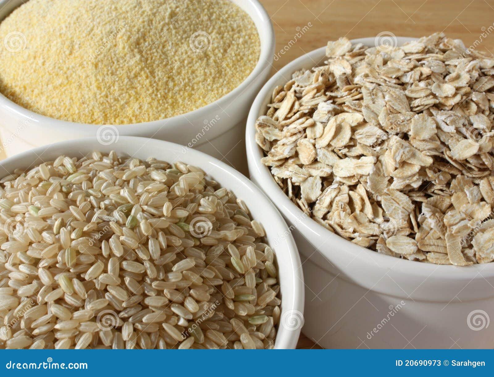 Granuli di cereale Glutine-Liberi
