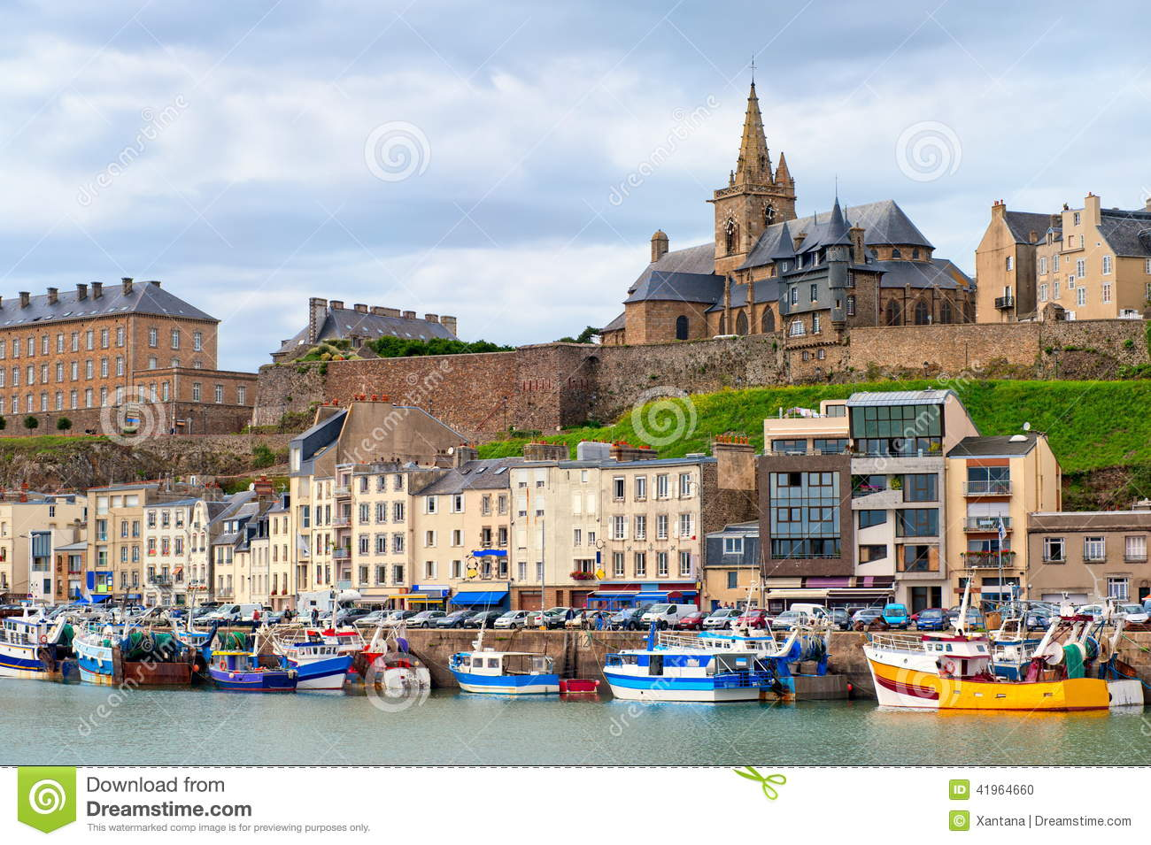 Granville, France stock photo. Image of ancient, beautiful - 41964660