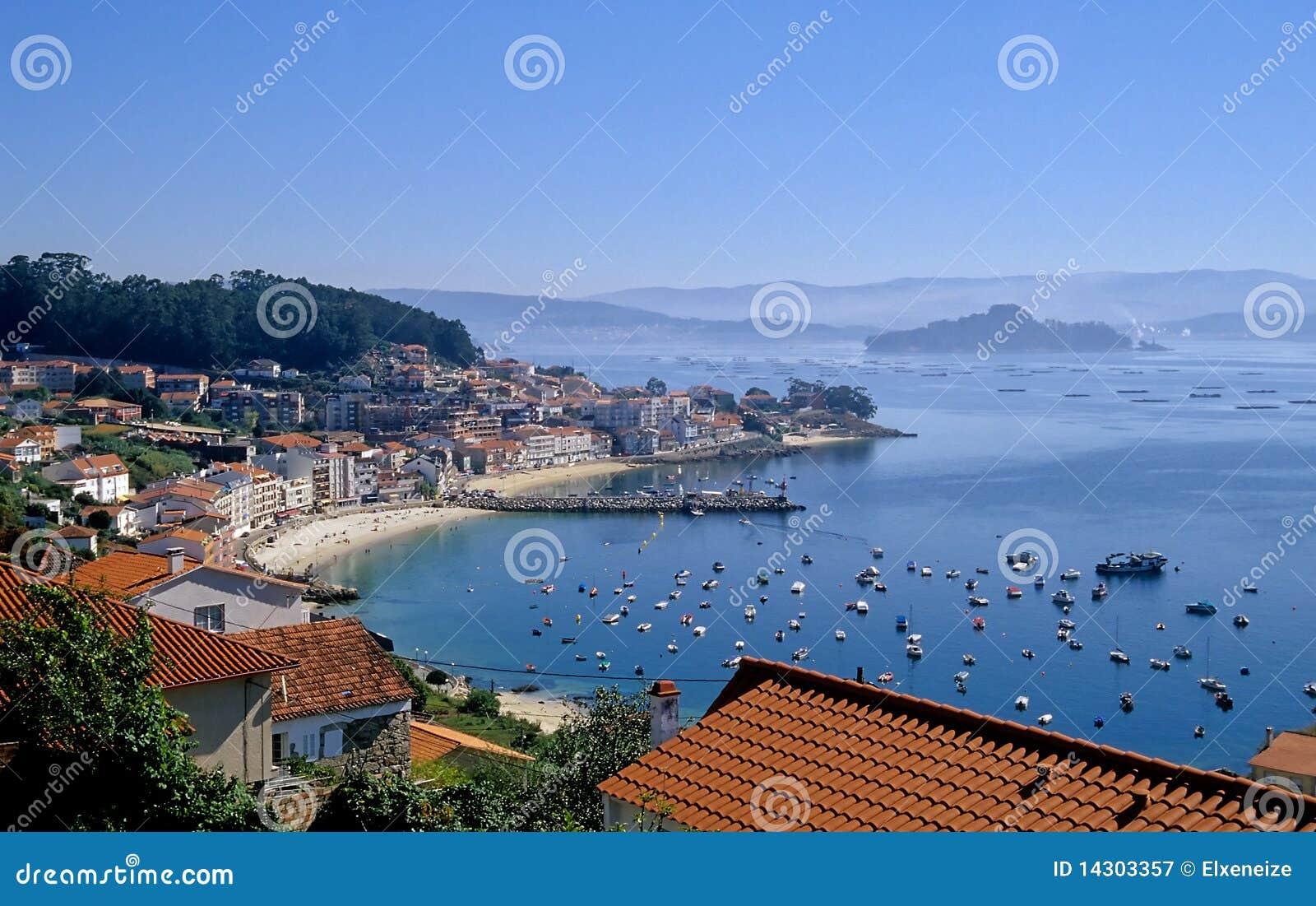Granxa y el Ria de Pontevedra