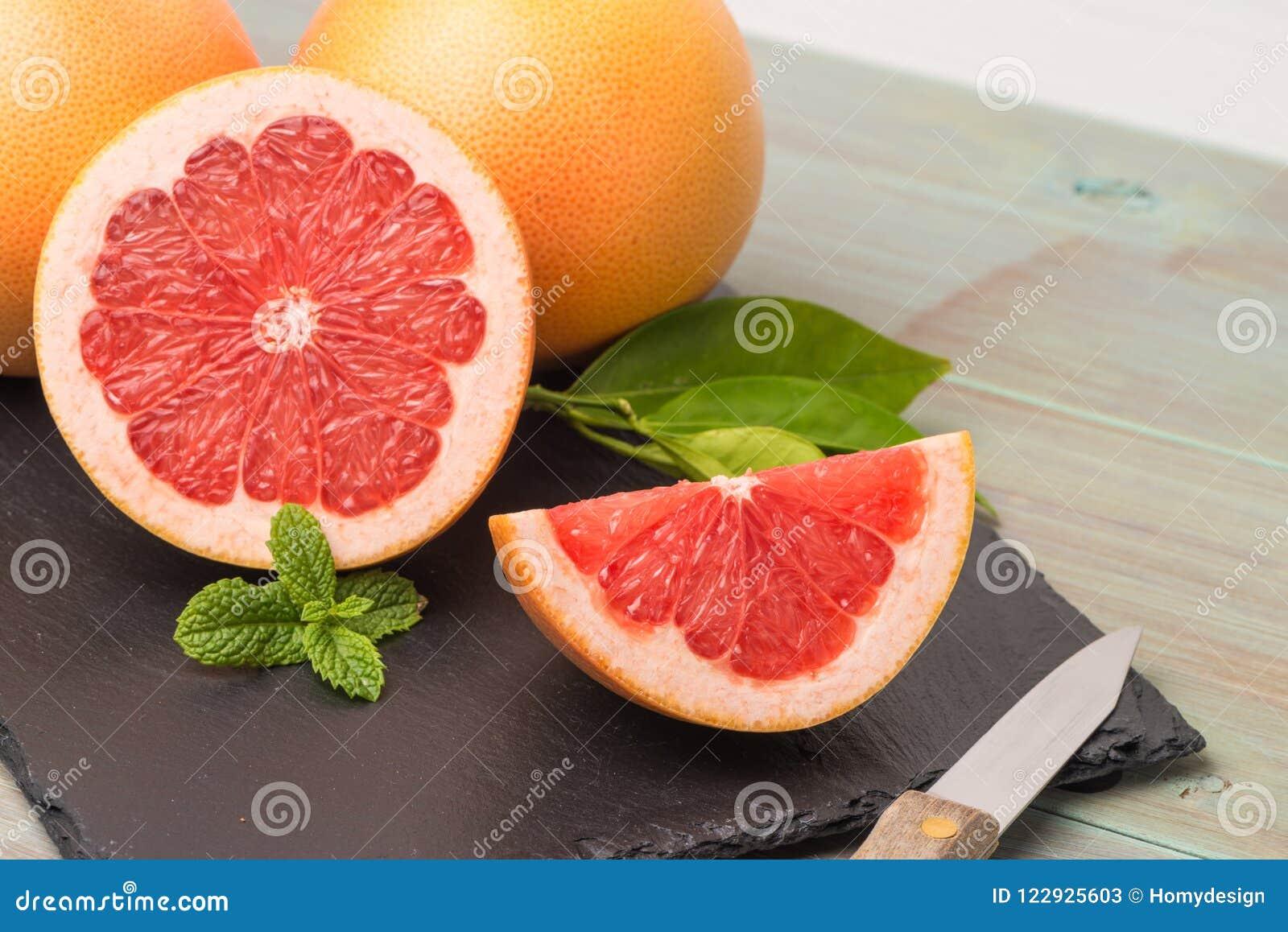 Grapefruit dojrzały