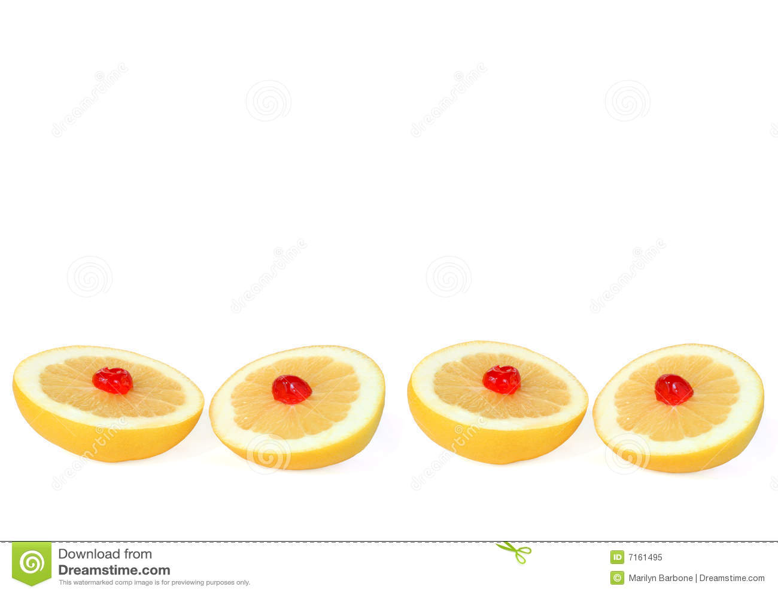 Grapefruit met Kersen