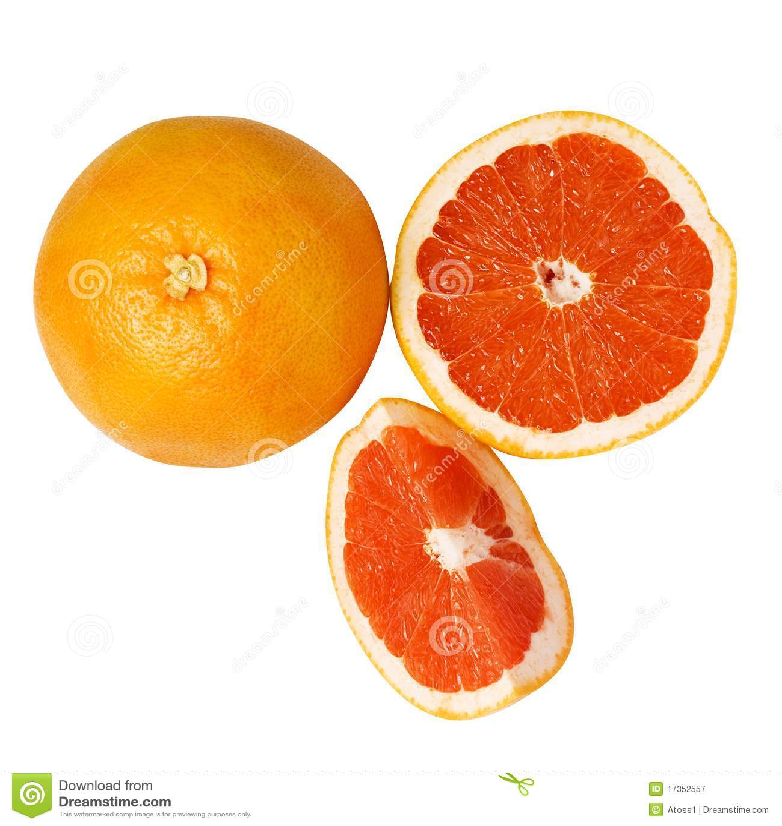 Grapefruits czerwoni