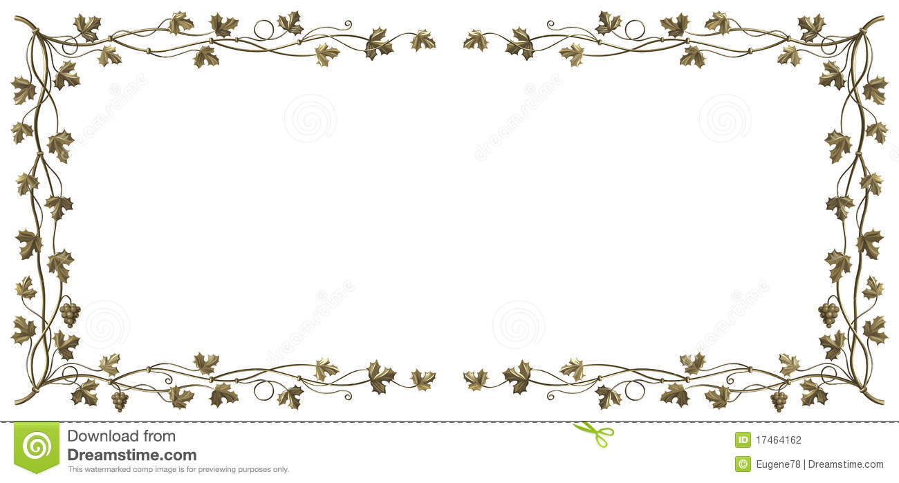 Grapevine Frame Stock Photography Image 17464162