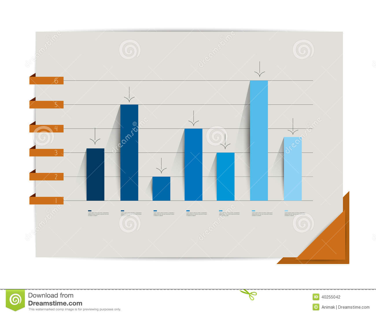 chart design inspiration. Graph Chart Infographic Elements Stock Vector Illustration Of Rh Dreamstime Com Design Inspiration P
