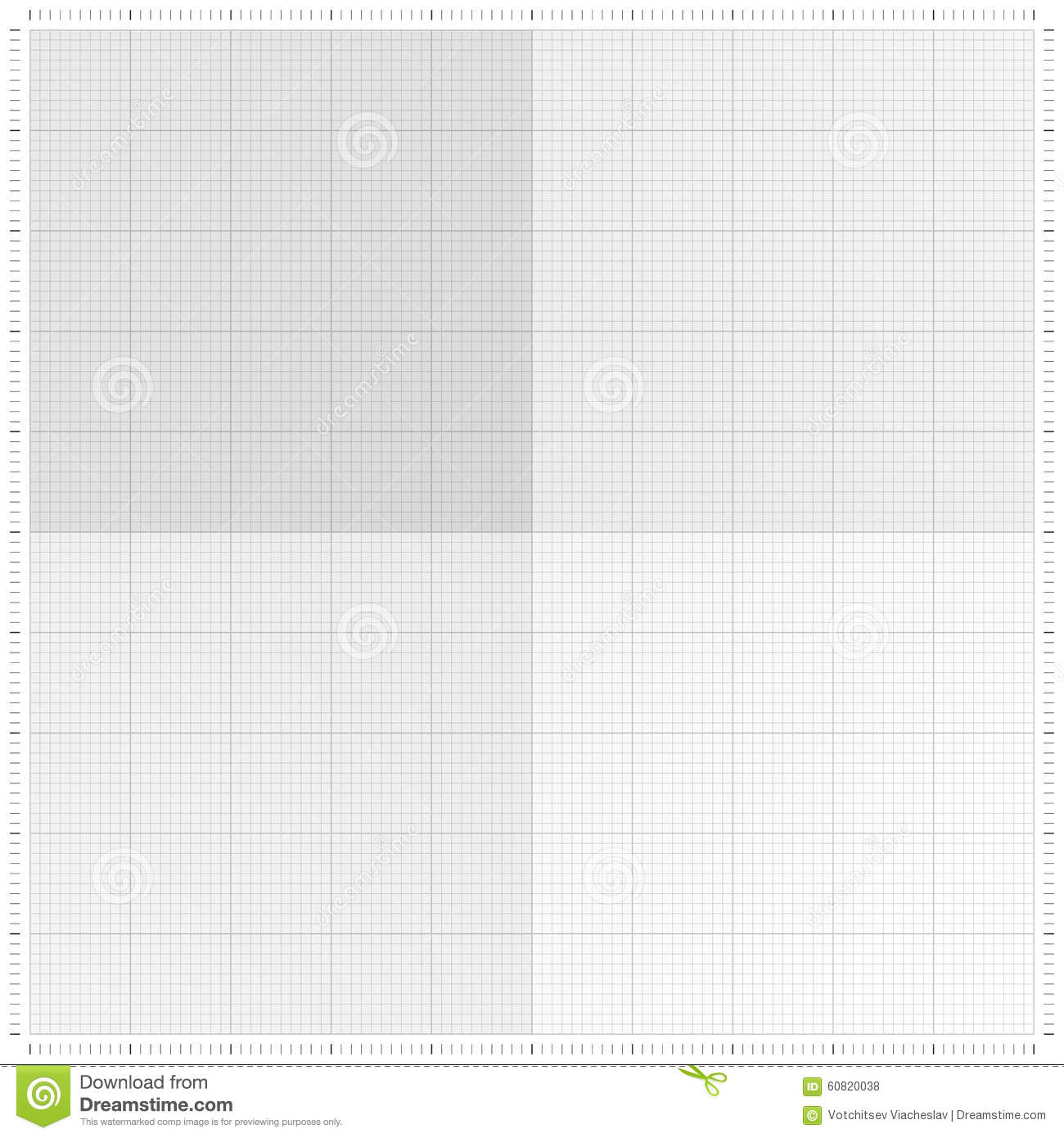 graph grid paper vector illustration stock vector illustration of
