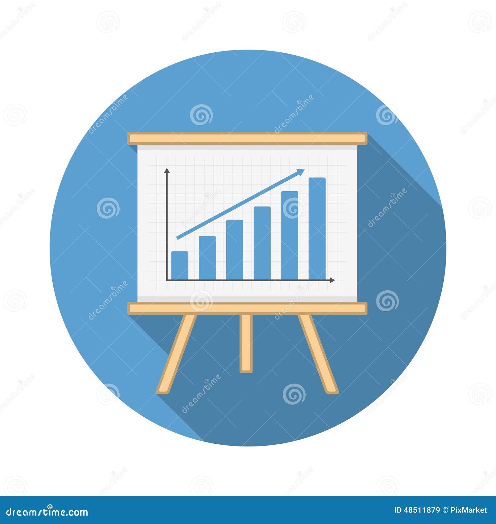 Graph Icon stock vecto...