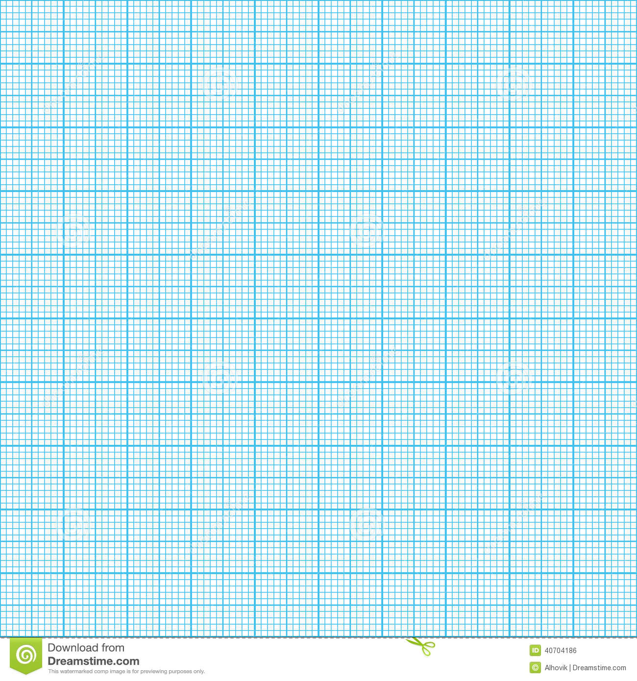 graph millimeter paper seamless vector real scale 40704186