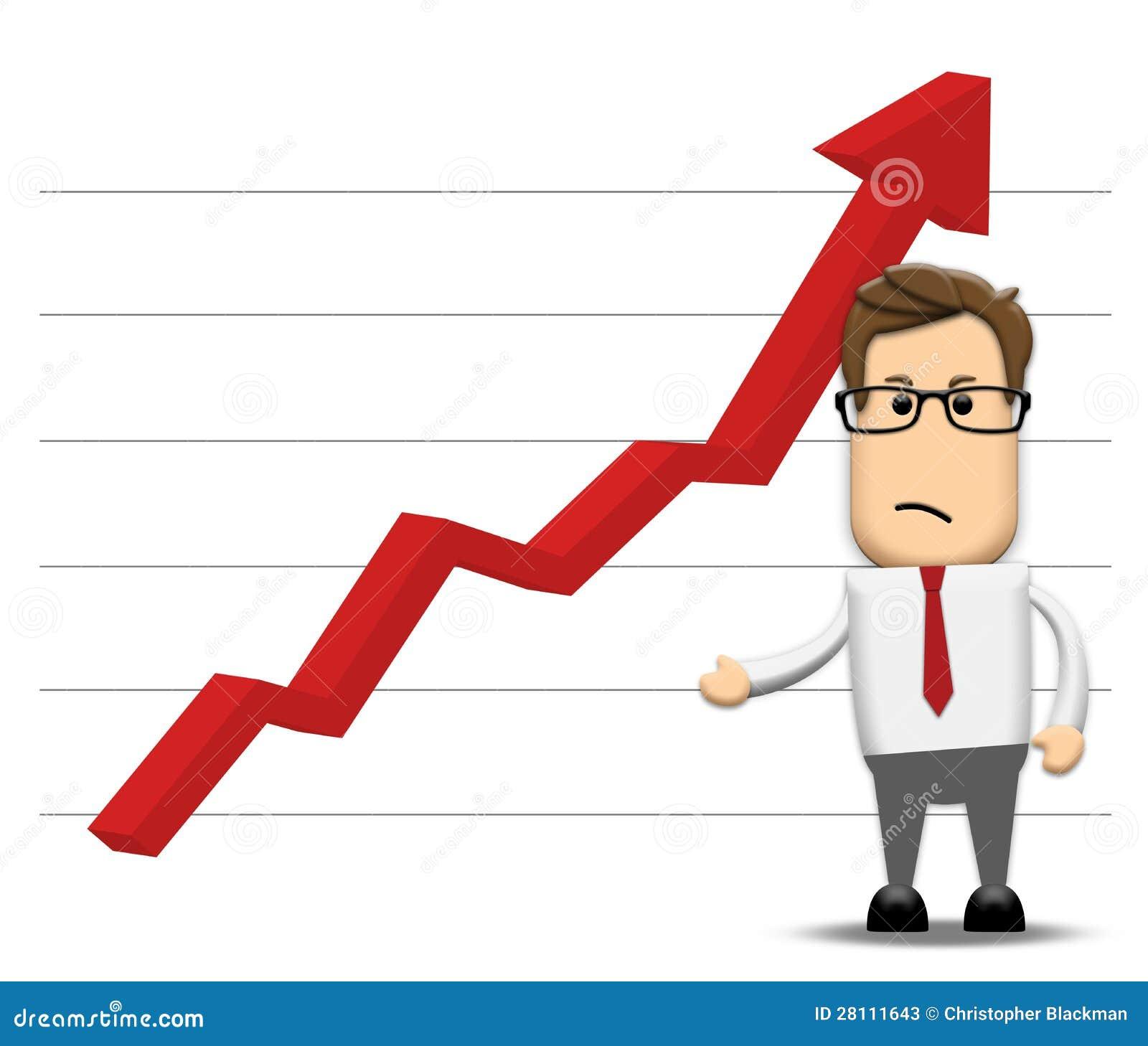 Graph Negatively Increasing Stock Photos - Image: 28111643