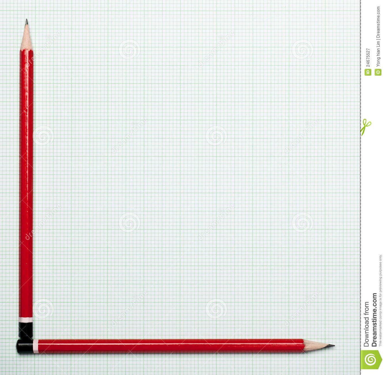 Graph Paper With Pencil Axis Royalty Free Photography – Graph Paper with Axis
