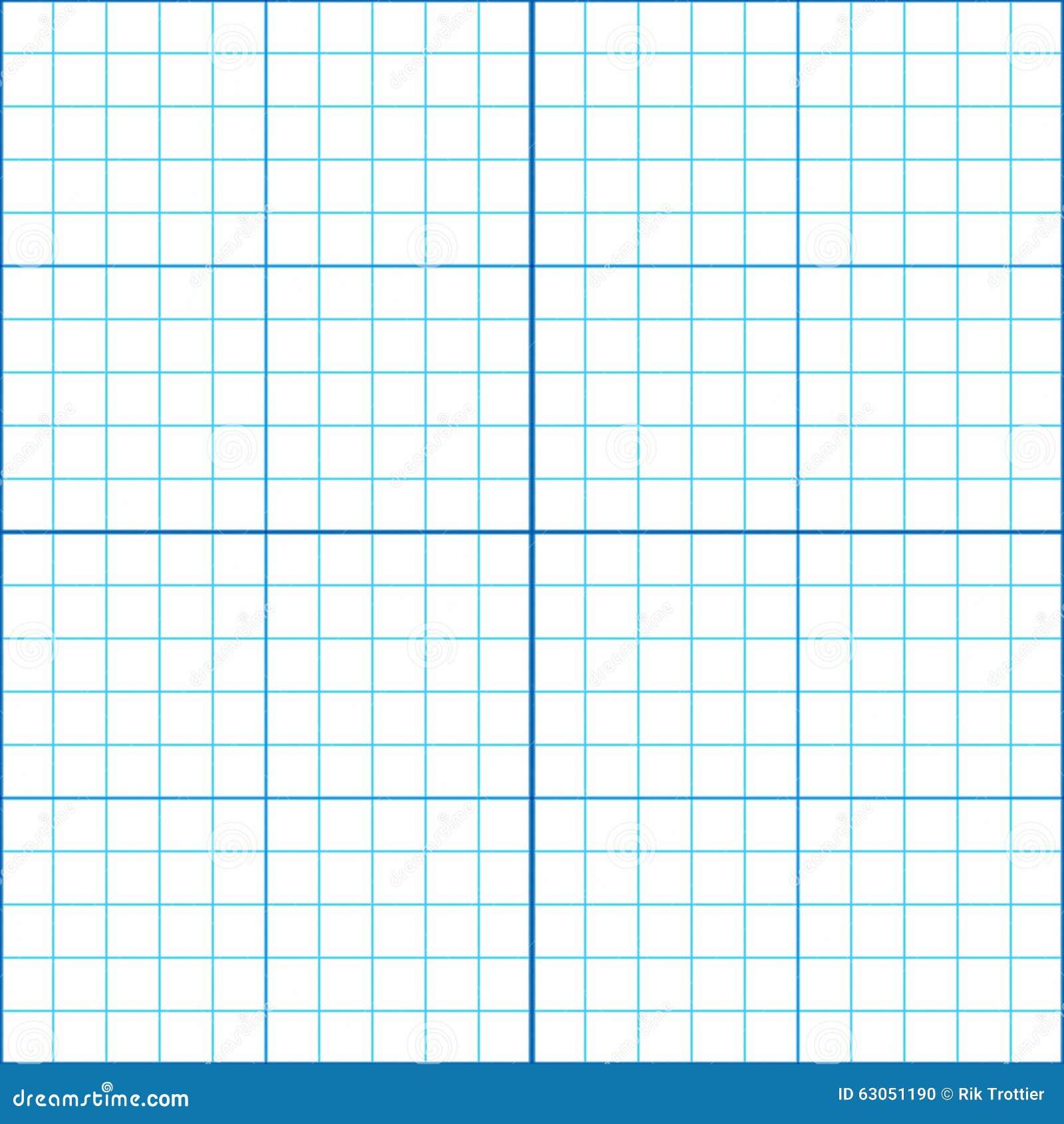 Graph Paper Stock Illustration - Image: 63051190