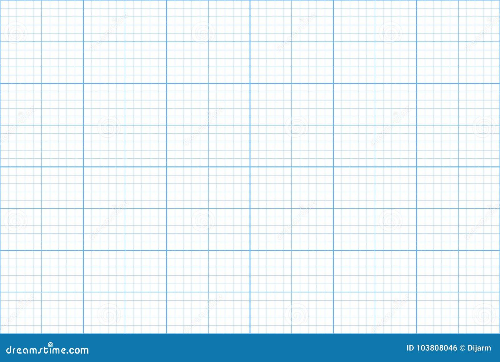 Graph Paper Seamless Pattern Architect Backgound