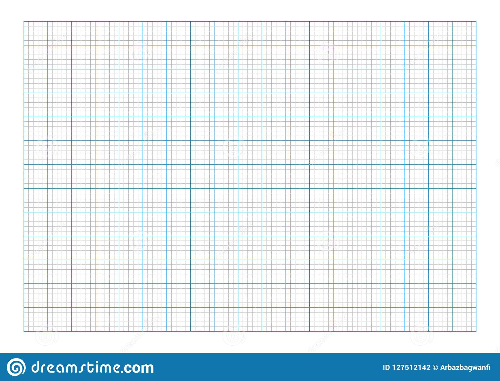 a7 graph paper stock vector  illustration of drawing