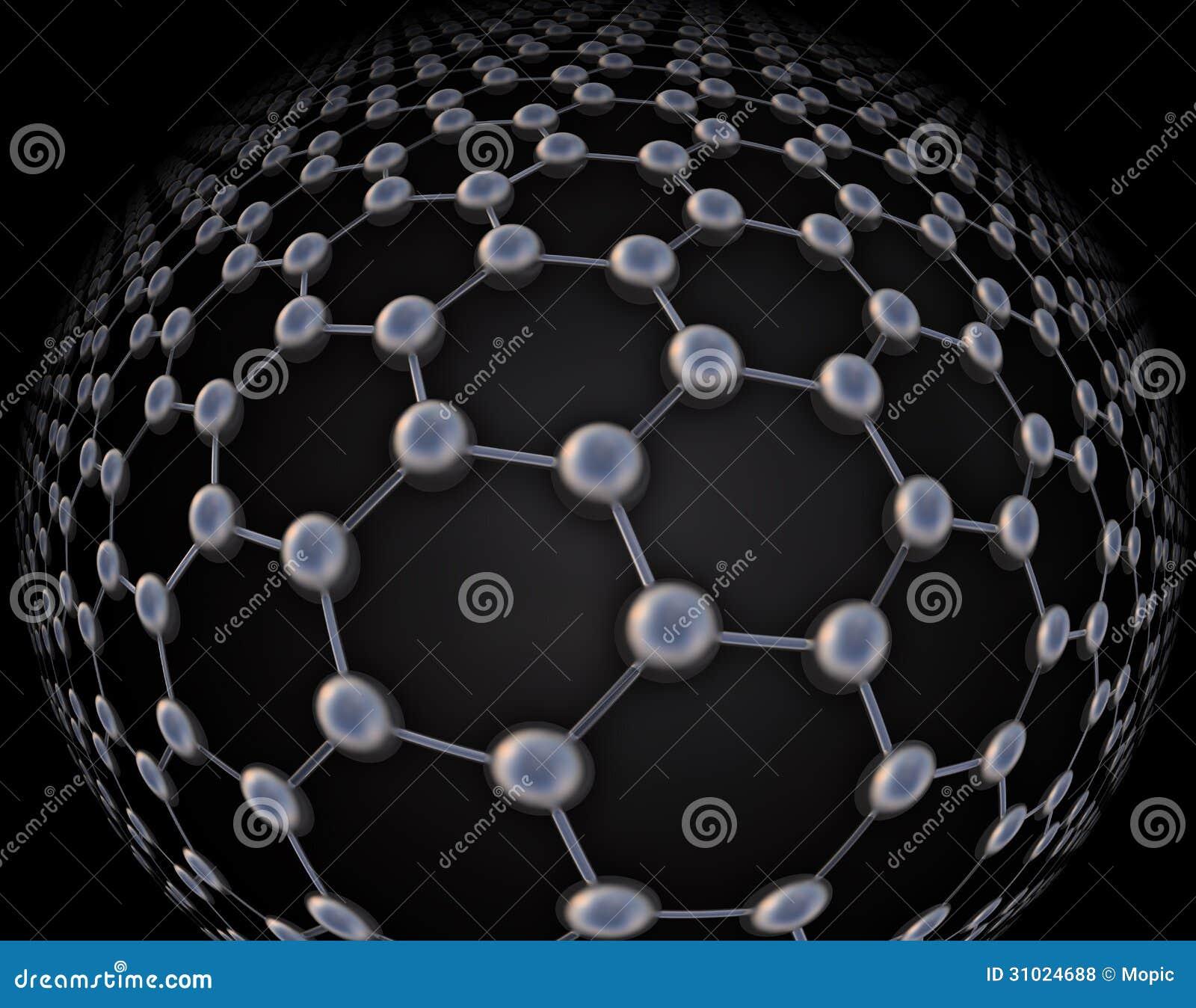 Graphene atomic structure stock illustration illustration of graphene atomic structure ccuart Images