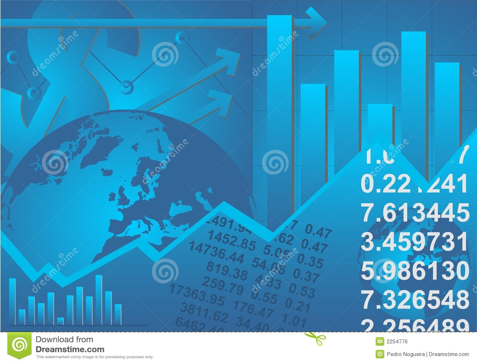 Graphic Chart on Horizontal Bar Chart