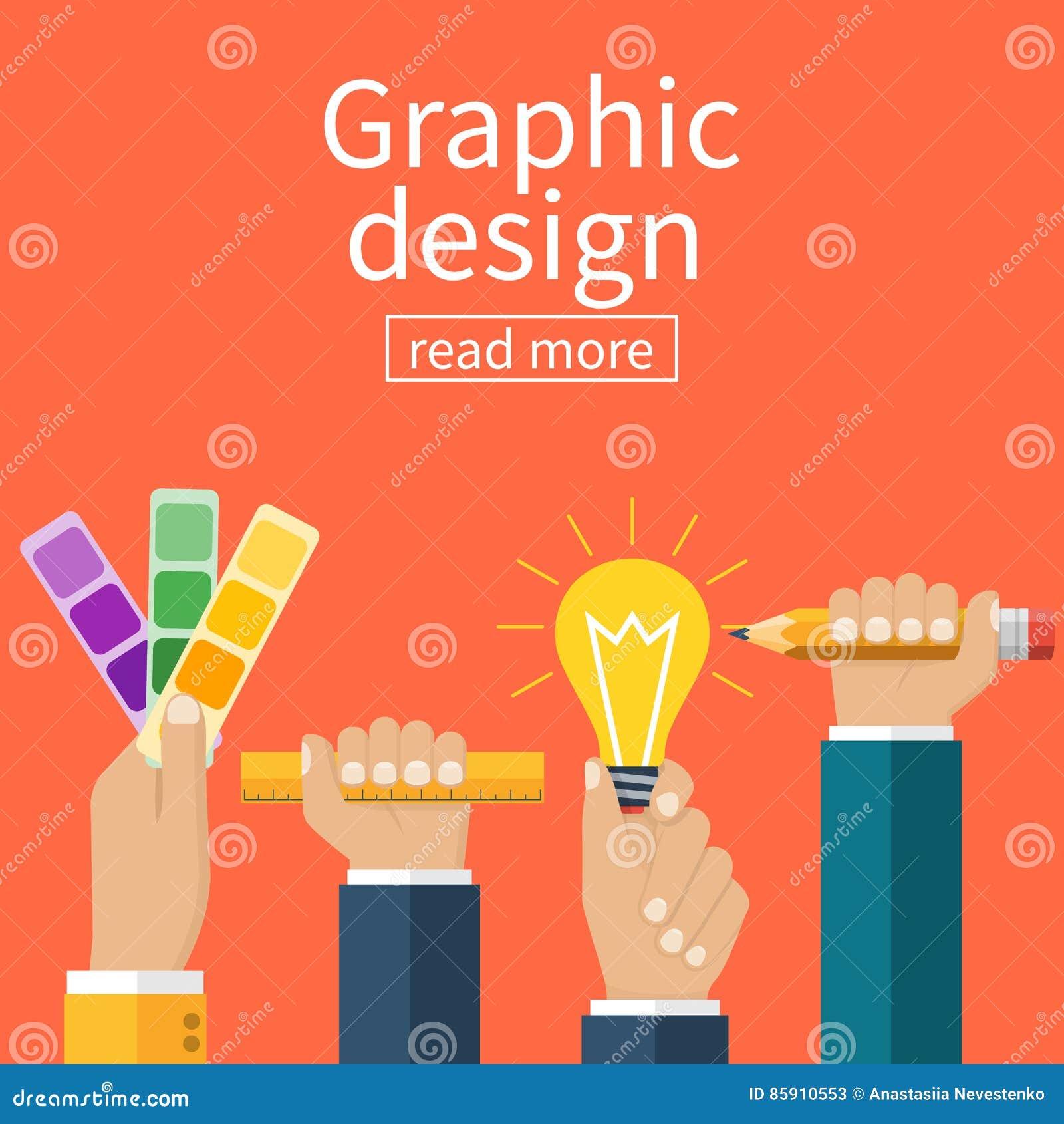 Graphic design concept.
