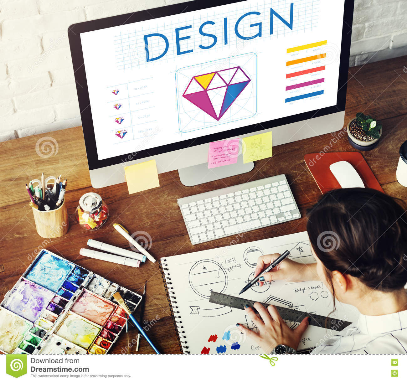 Graphic Design Creative Imagination Concept Stock Image Image Of Desk Illustration 76833027,Best Mousetrap Car Designs For Distance And Speed