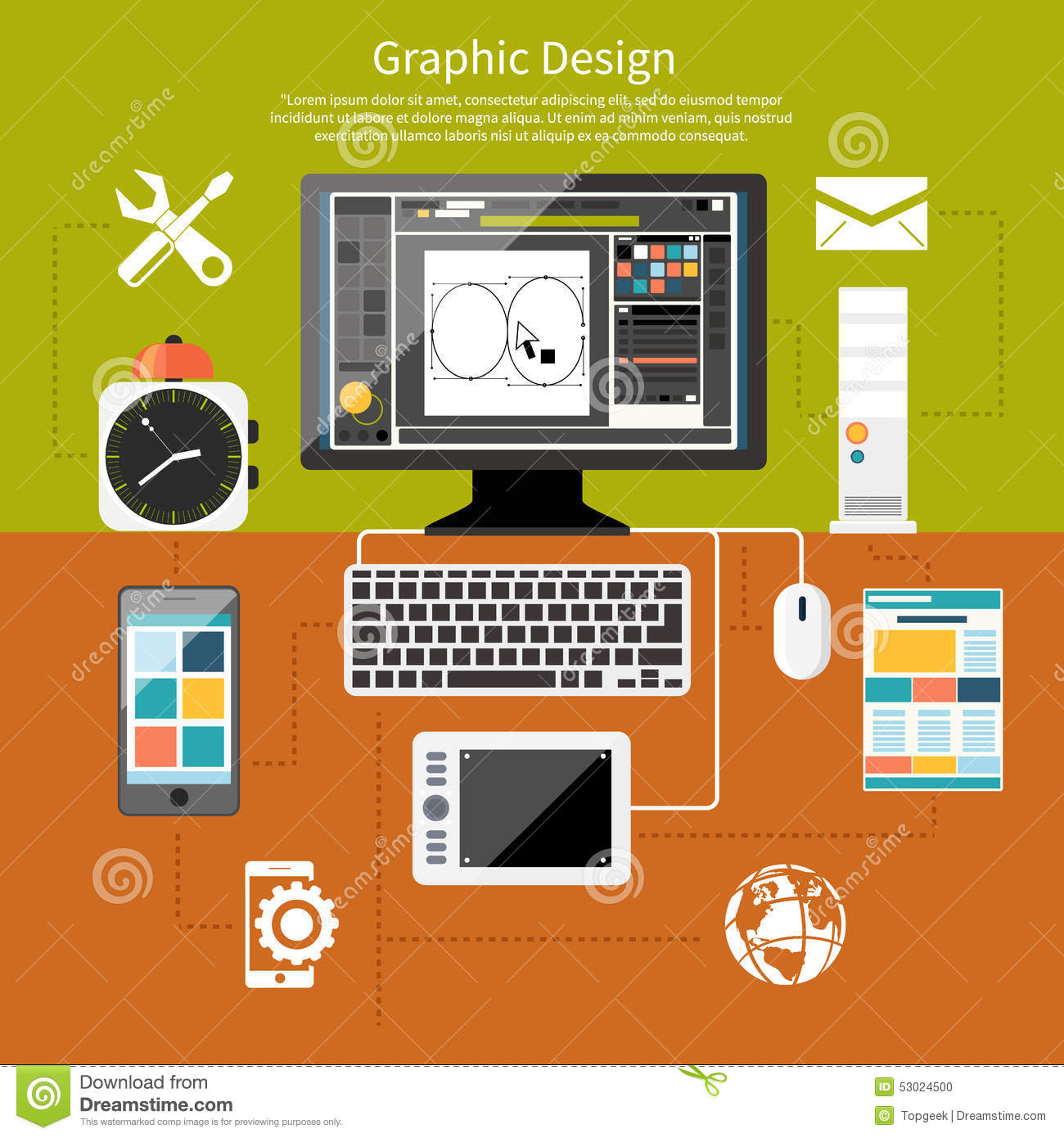 Web Design Tools Vector Illustration 28 Images Web Folder With Office Icons Graphicriver