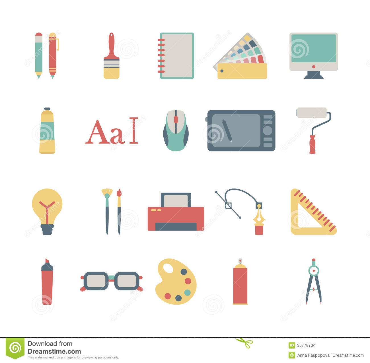Graphic Design Icons Stock Images  Image: 35778734