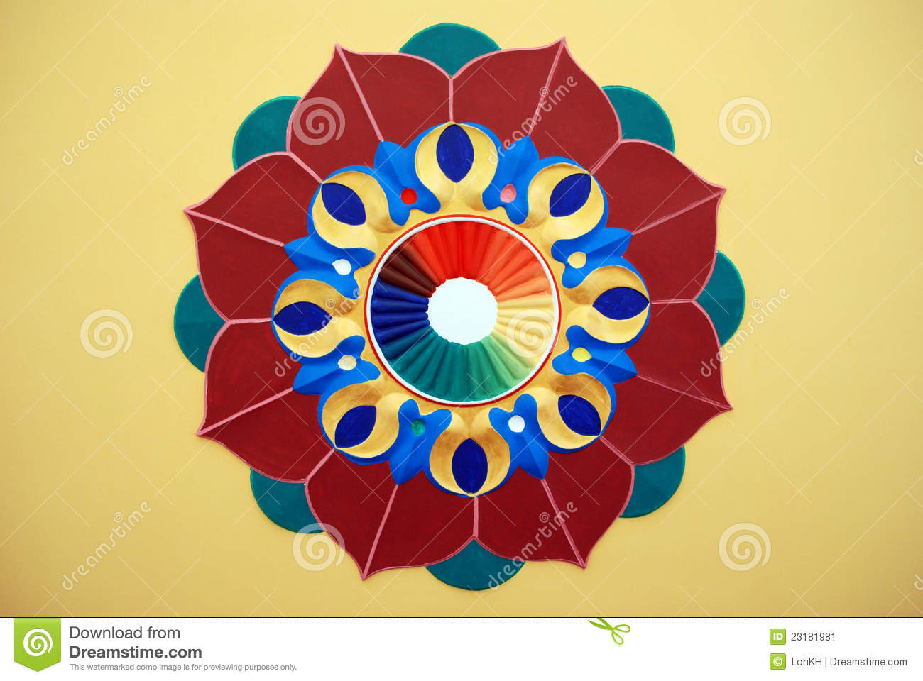 Graphic design of lotus flower Lotus Flower Graphic Design