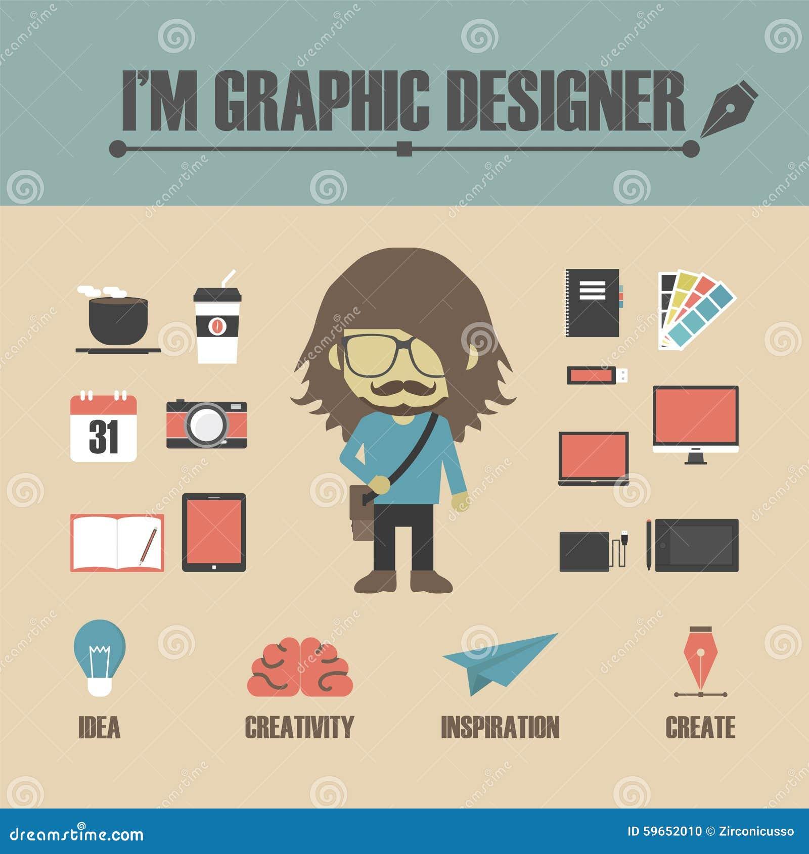 graphic designer stock vector image 59652010 graphic designs clipart graphic design element clipart free
