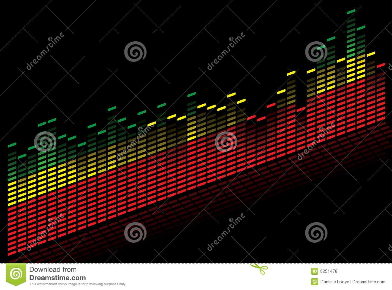 Graphic Equalizer - Vector Image Royalty Free Stock Photos ...