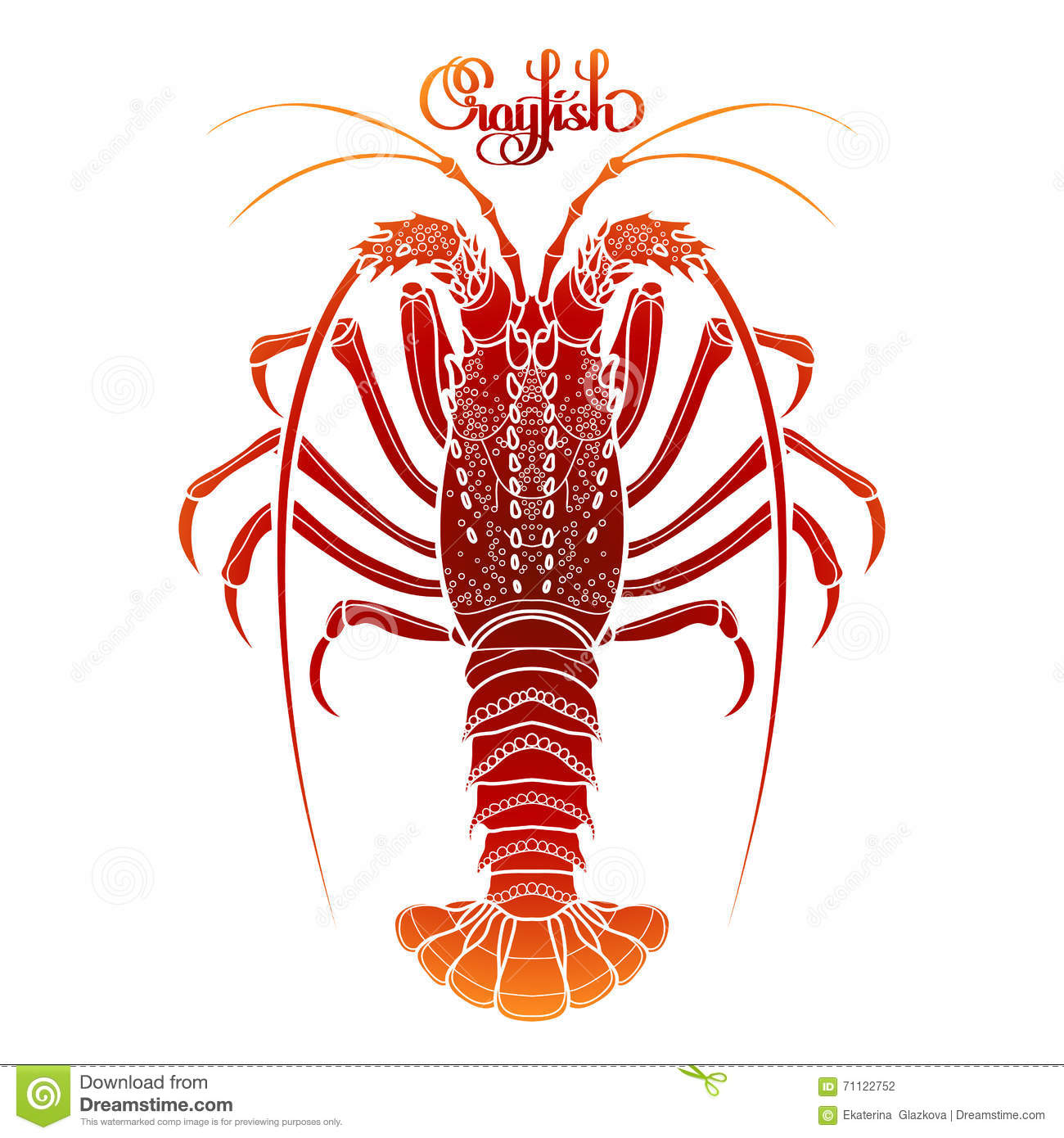 Crayfish Cartoons, Illustrations & Vector Stock Images