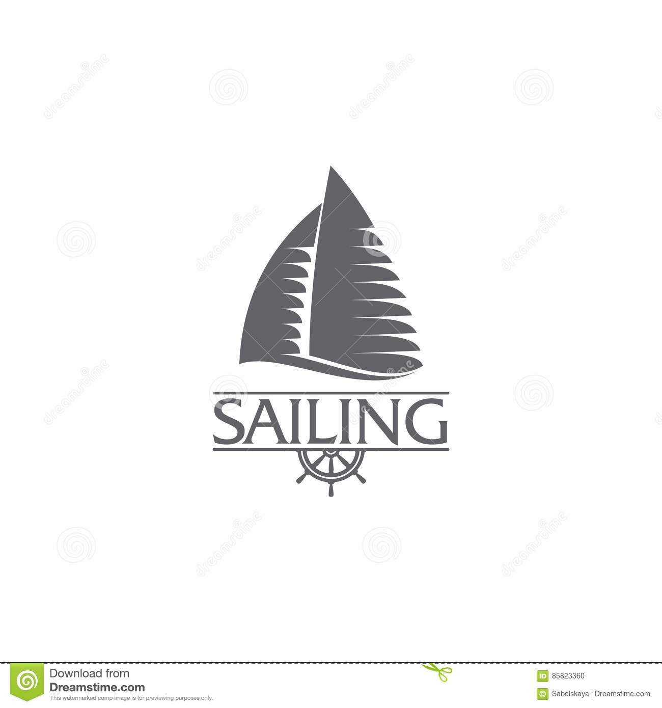 Graphic yacht club sailing sport logo template with steering wheel graphic yacht club sailing sport logo template with steering wheel toneelgroepblik Choice Image