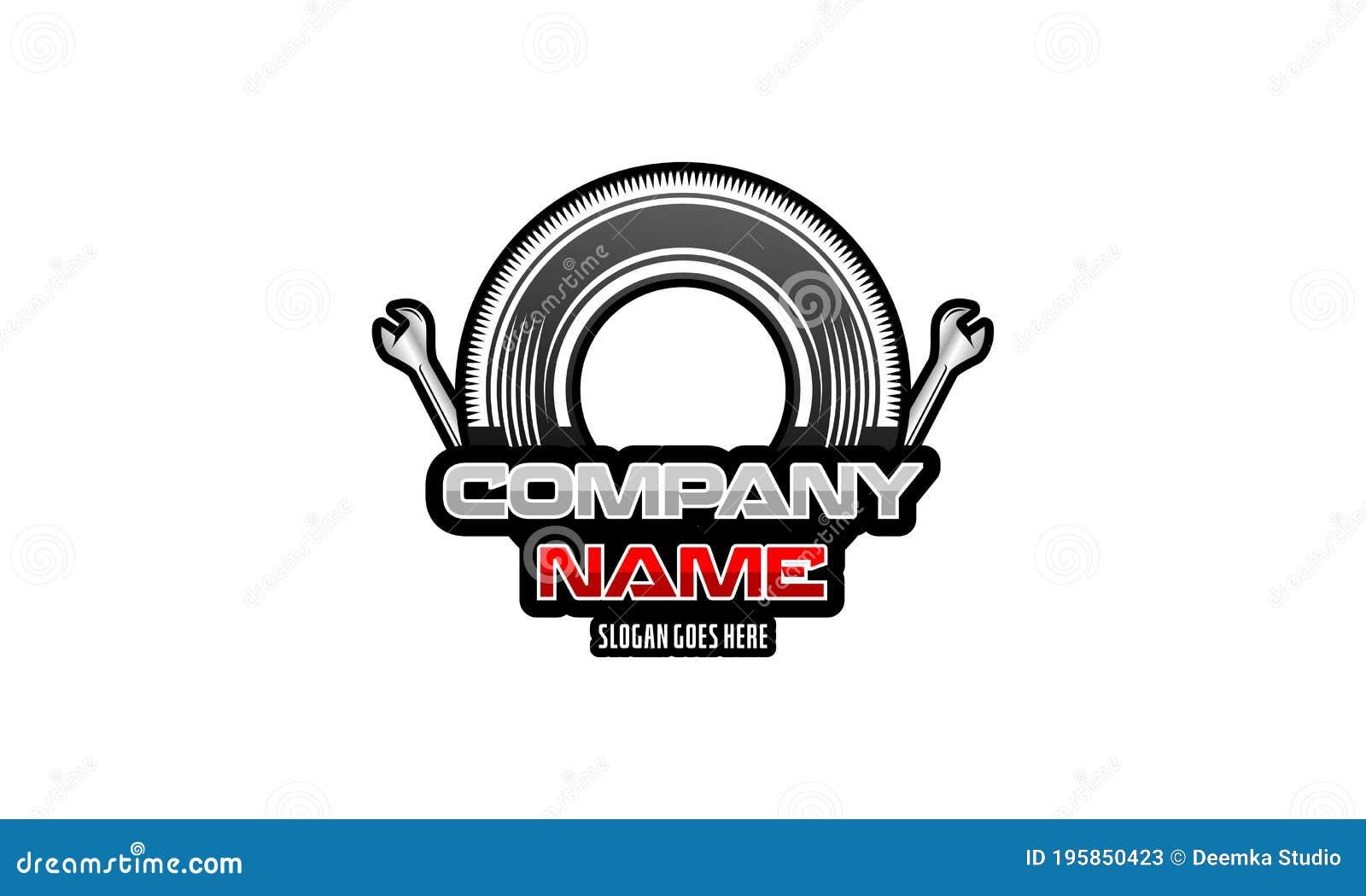 Auto Repair Services Automotive Logo Ideas Sample Vehicle Logos Stock Illustration Illustration Of Fast Branding 195850423