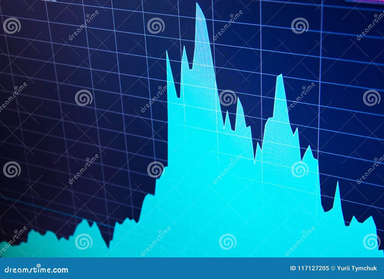 Graphique de sciences économiques du monde Vue conceptuelle de marché des changes