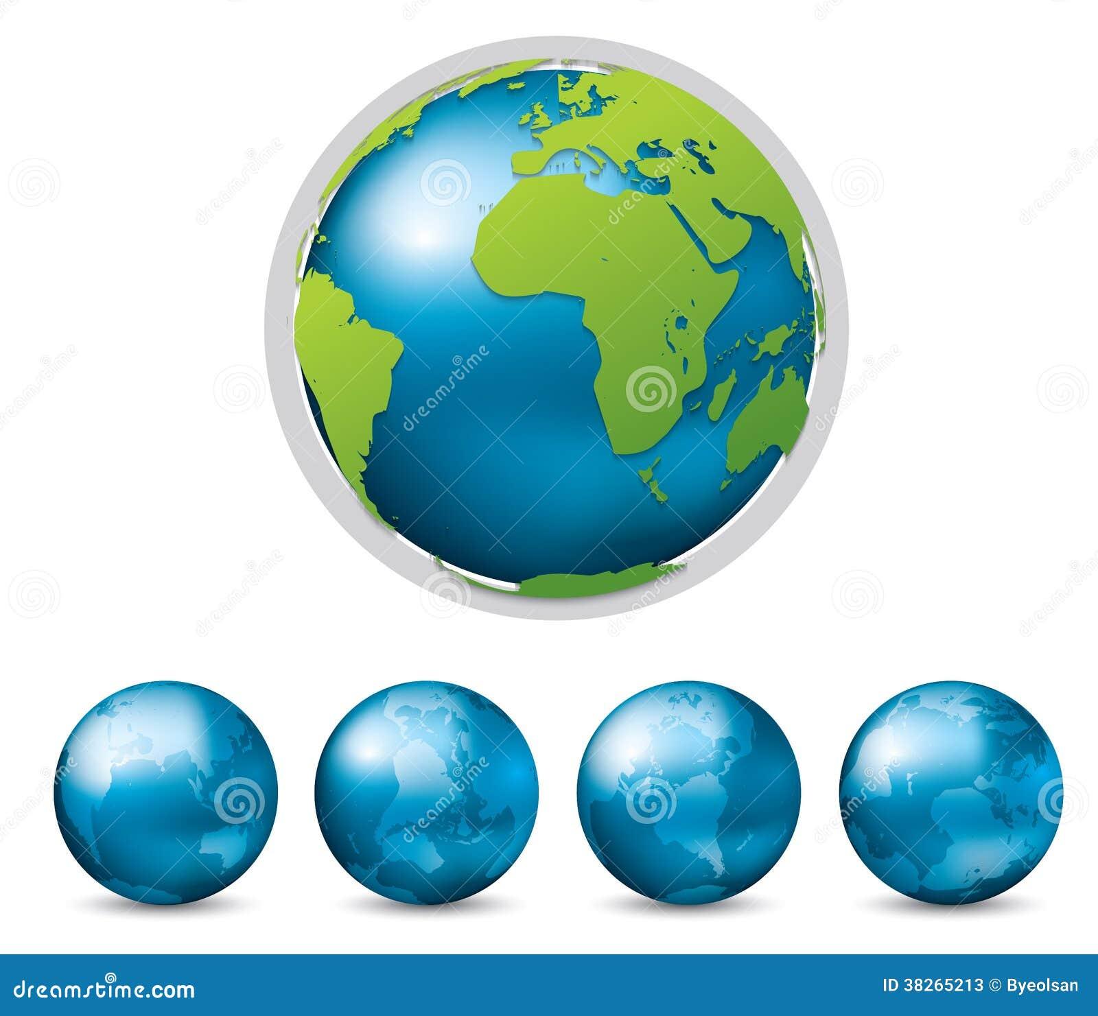 Graphique de vecteur de la terre