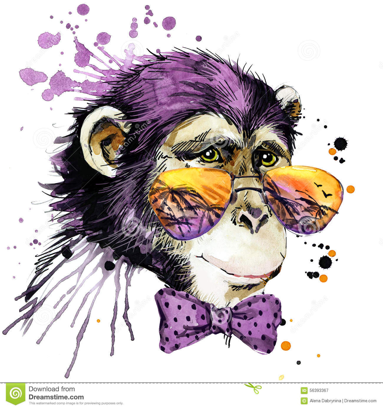 singe stock illustrations vecteurs amp clipart � 34840