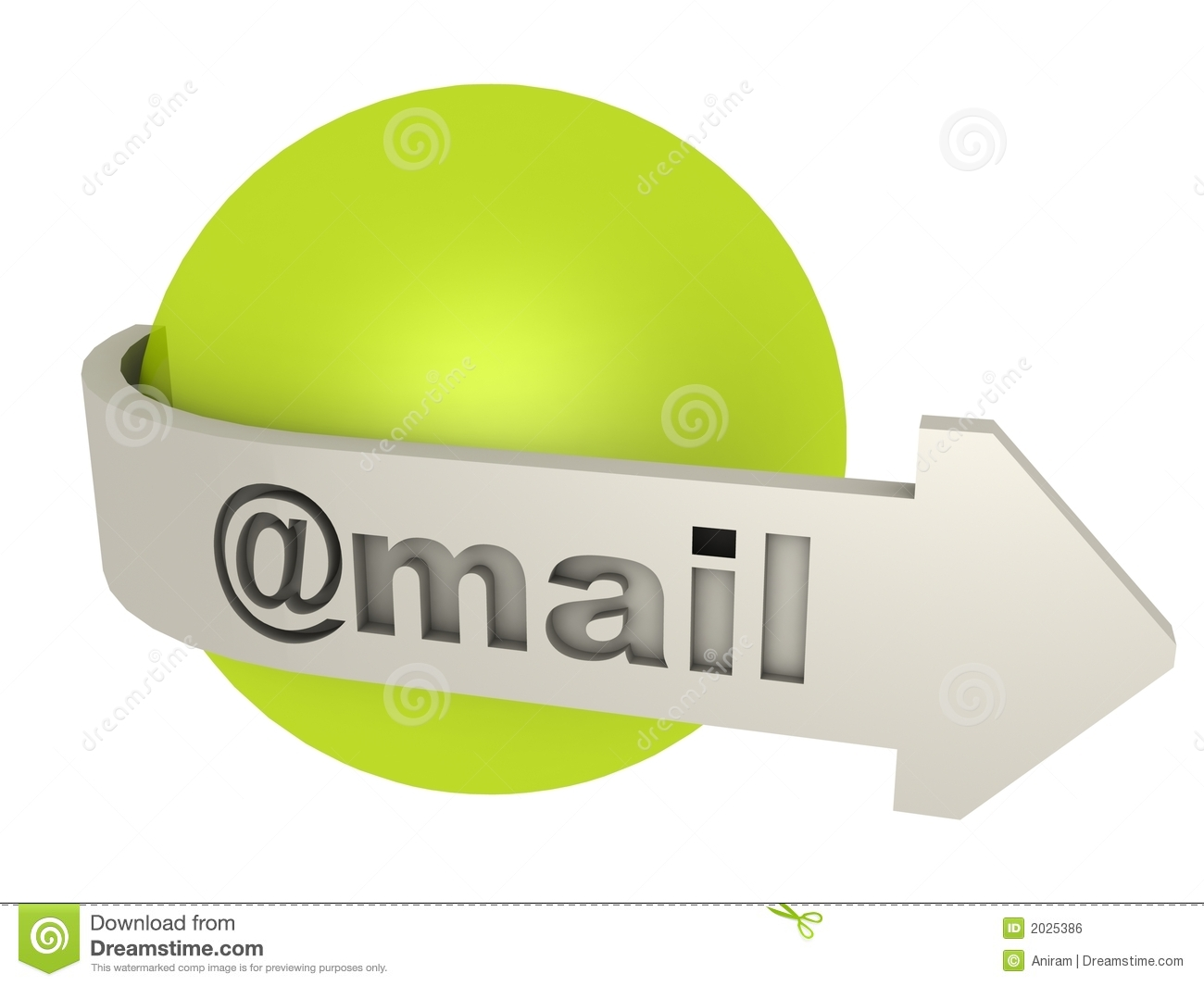 Graphisme d email
