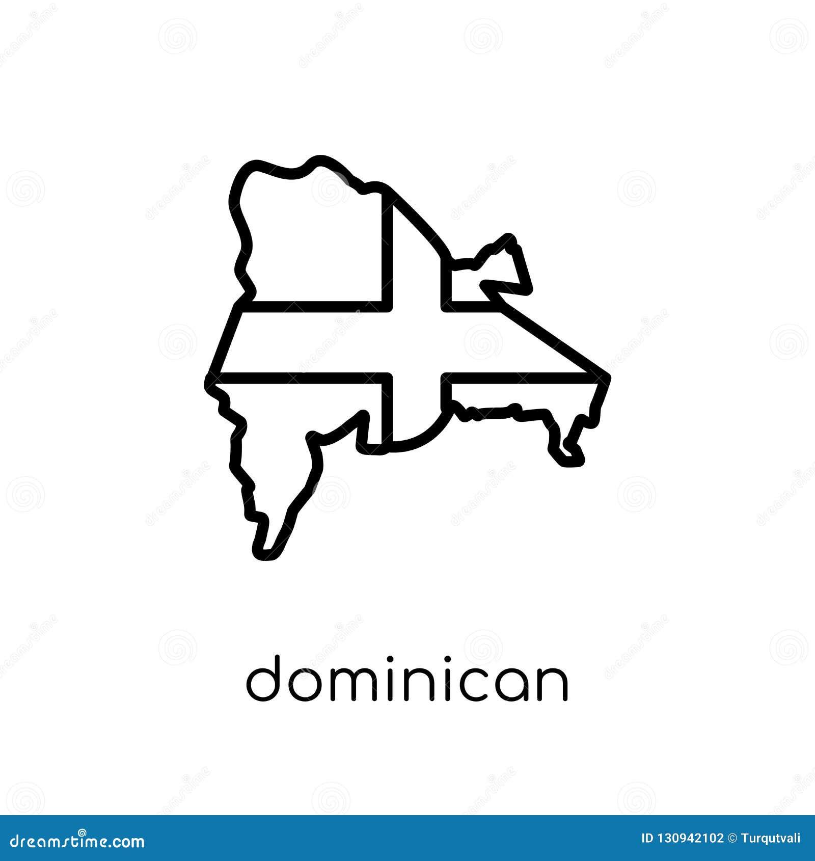 Graphisme d indicateur de la république dominicaine