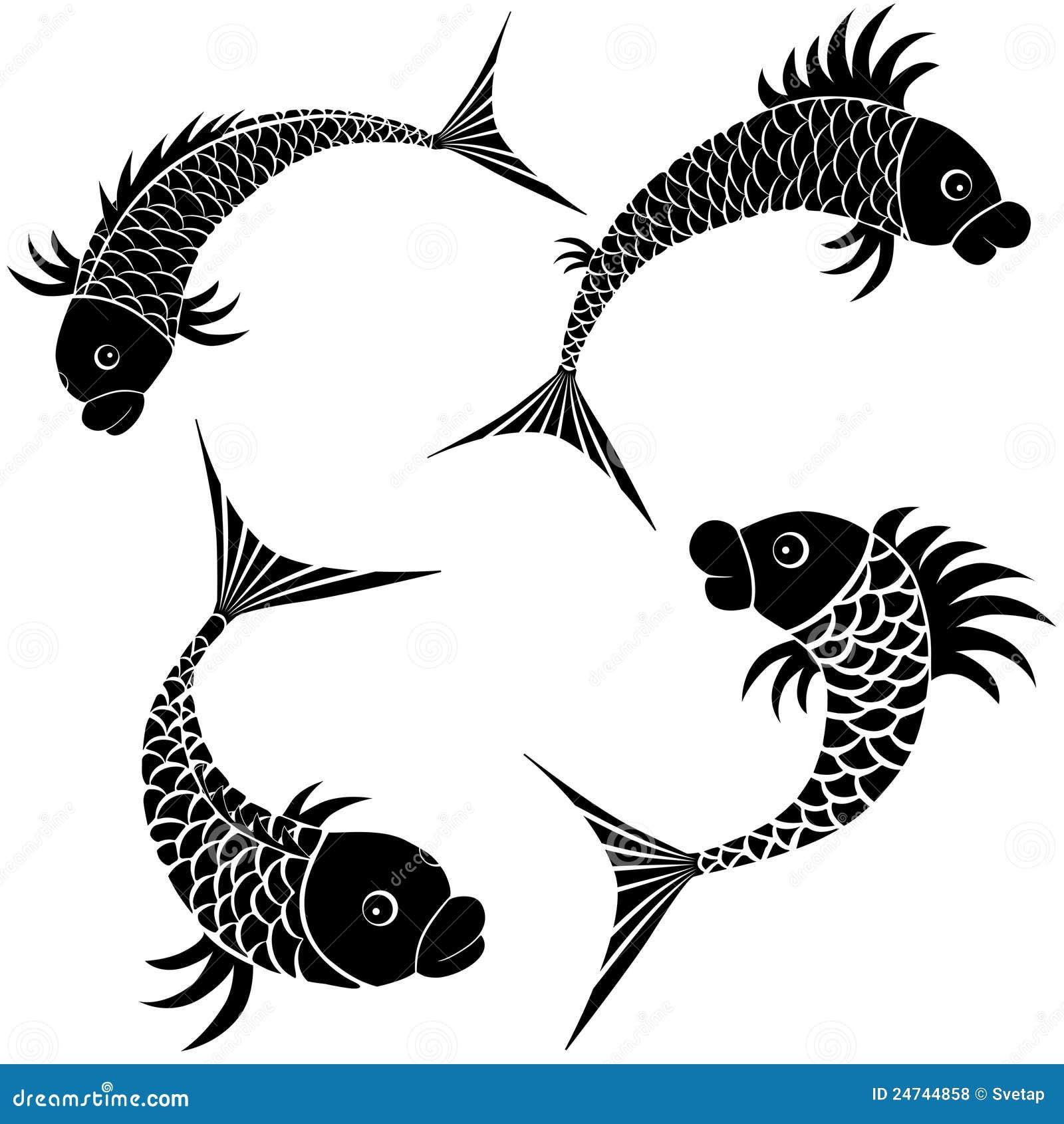 Graphisme de conception de croquis de poissons - Croquis poisson ...
