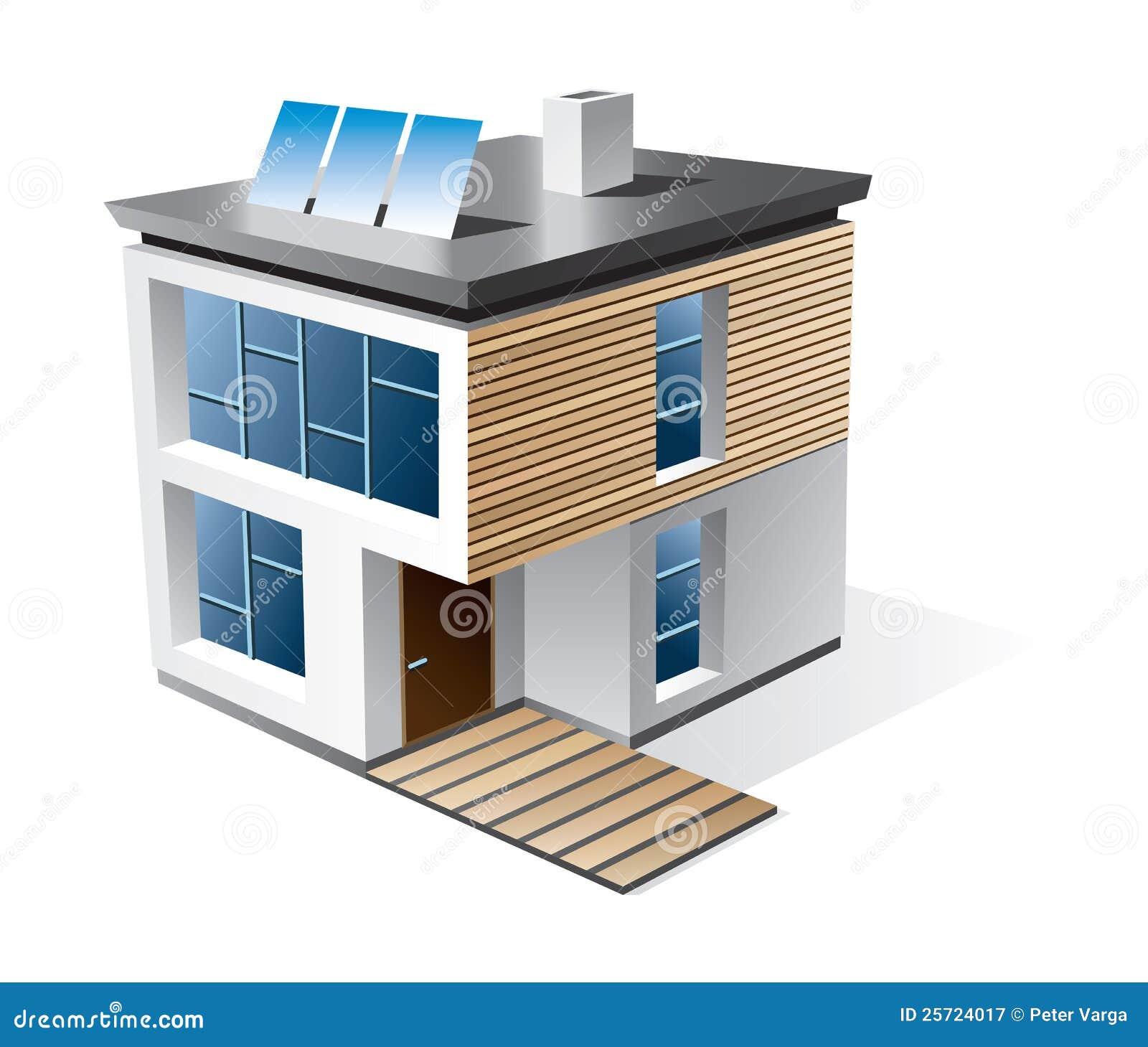Graphisme de dessin anim de maison de famille for Dessin de maison en 3d