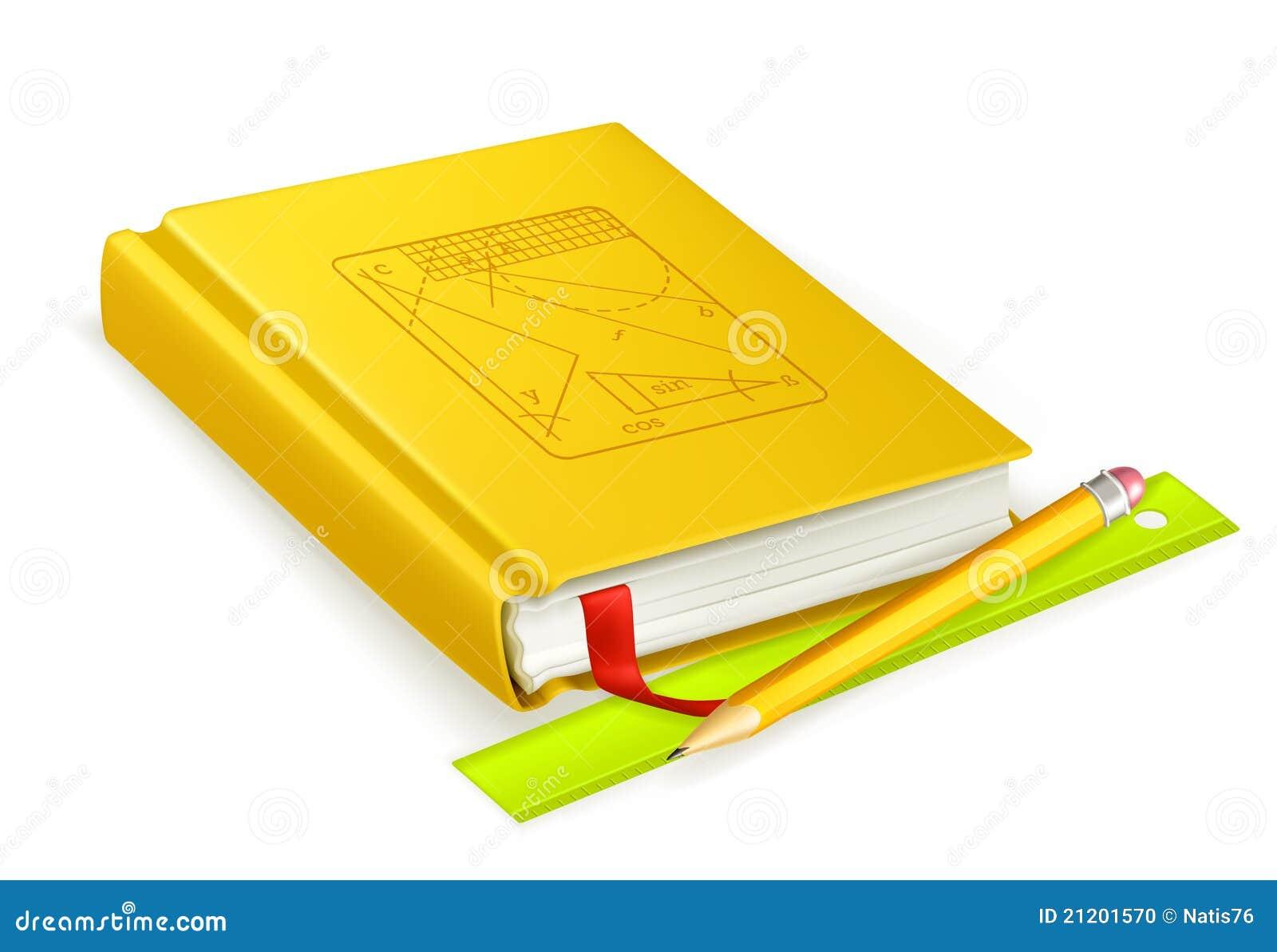 Graphisme De Livre Scolaire Illustration De Vecteur