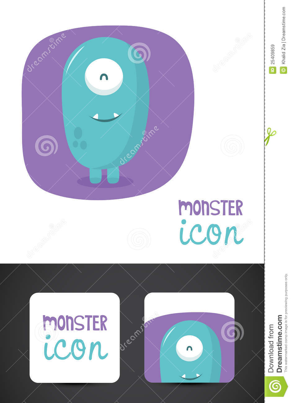 Graphisme De Monstre Et Conception Carte Visite Professionnelle