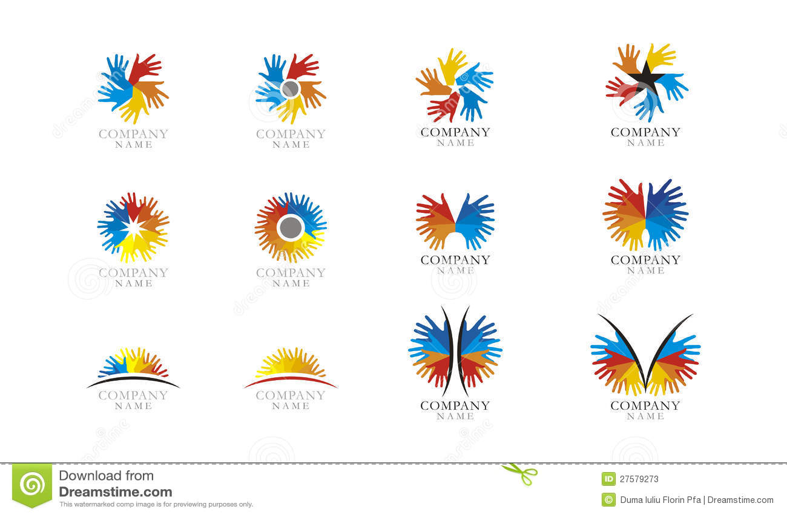 Graphisme réglé de logo
