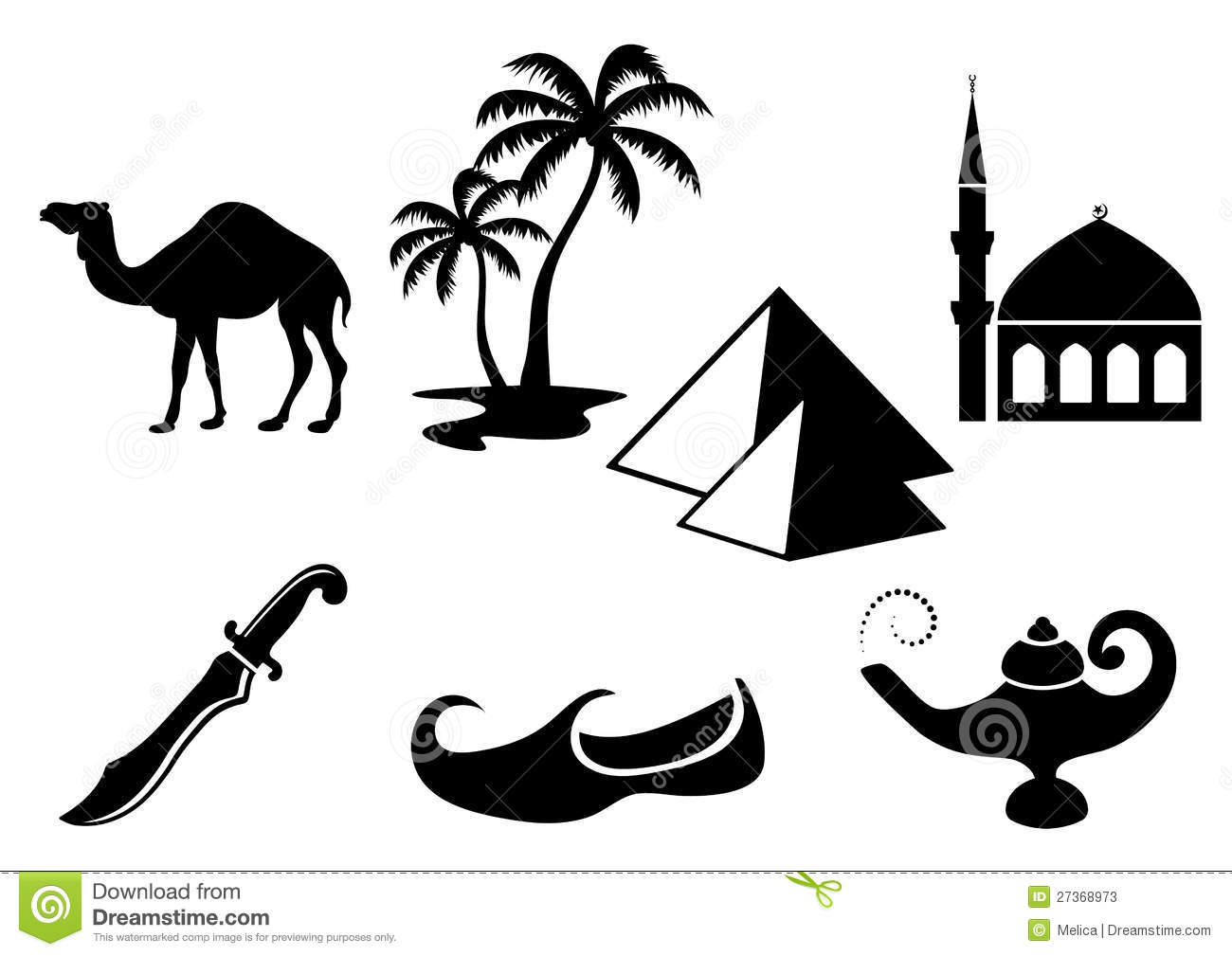 Graphismes Arabes Photos Stock Image 27368973
