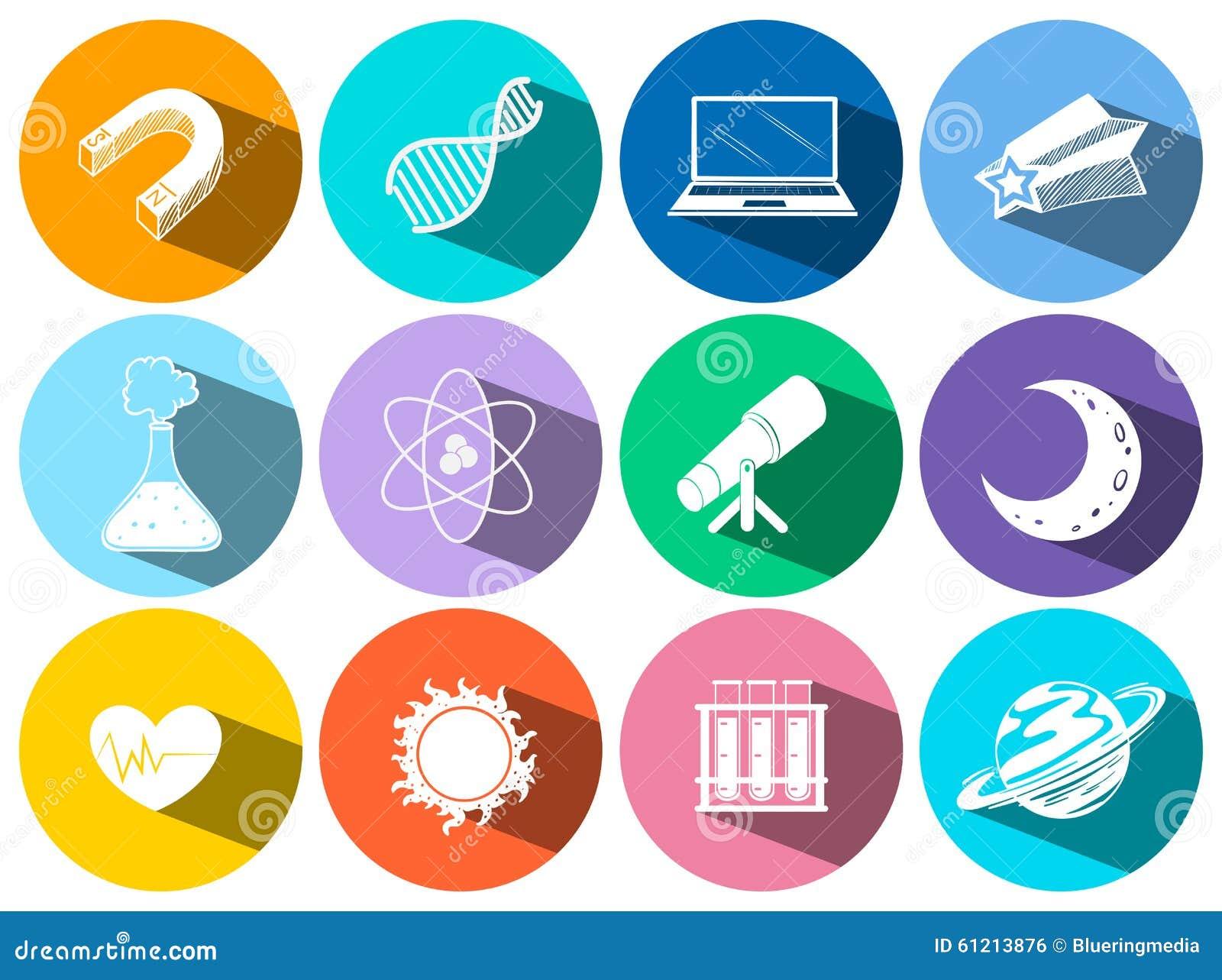 Graphismes de la Science et de technologie