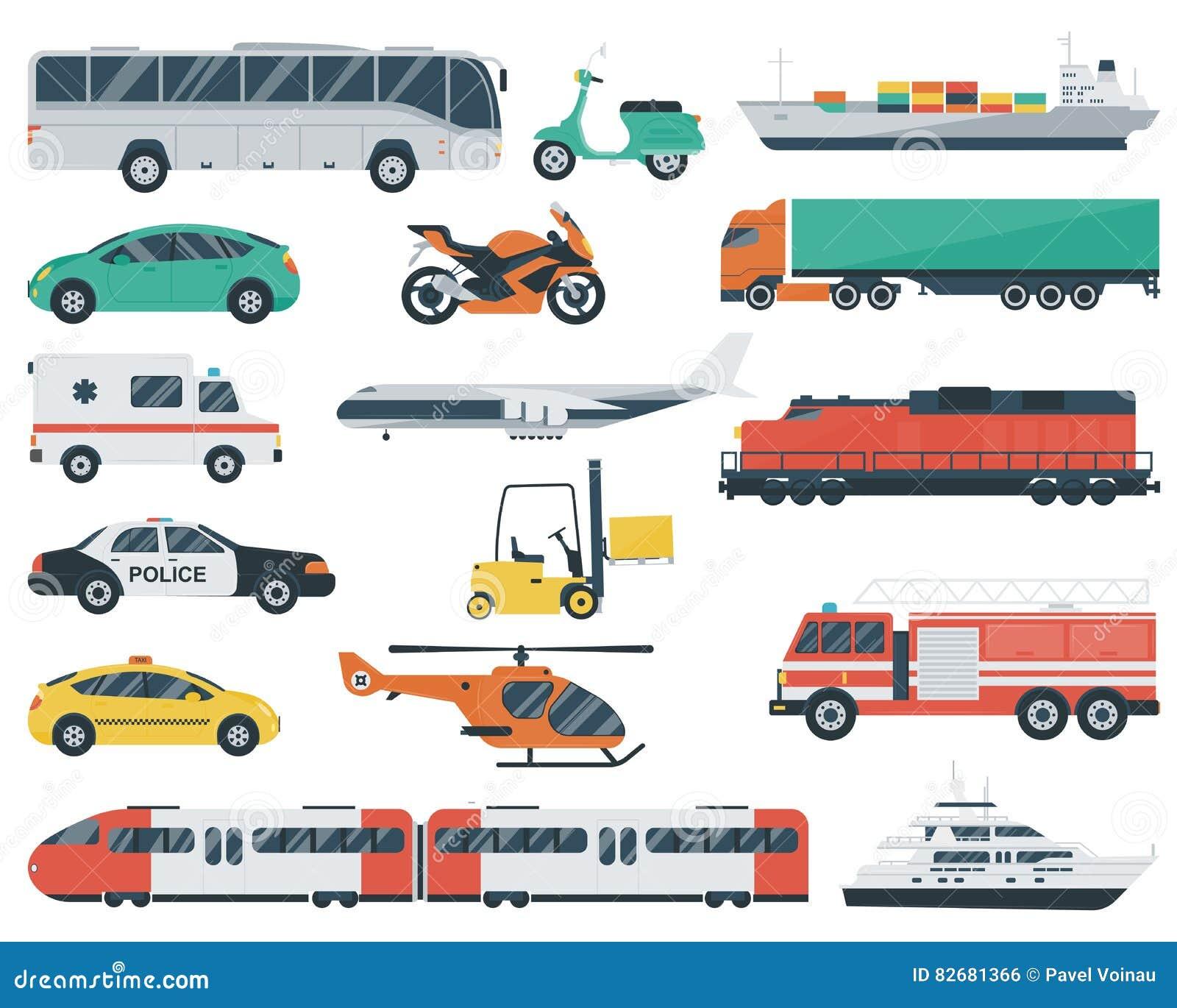 graphismes de transport r gl s transport de voitures et de v hicules de ville voiture bateau. Black Bedroom Furniture Sets. Home Design Ideas