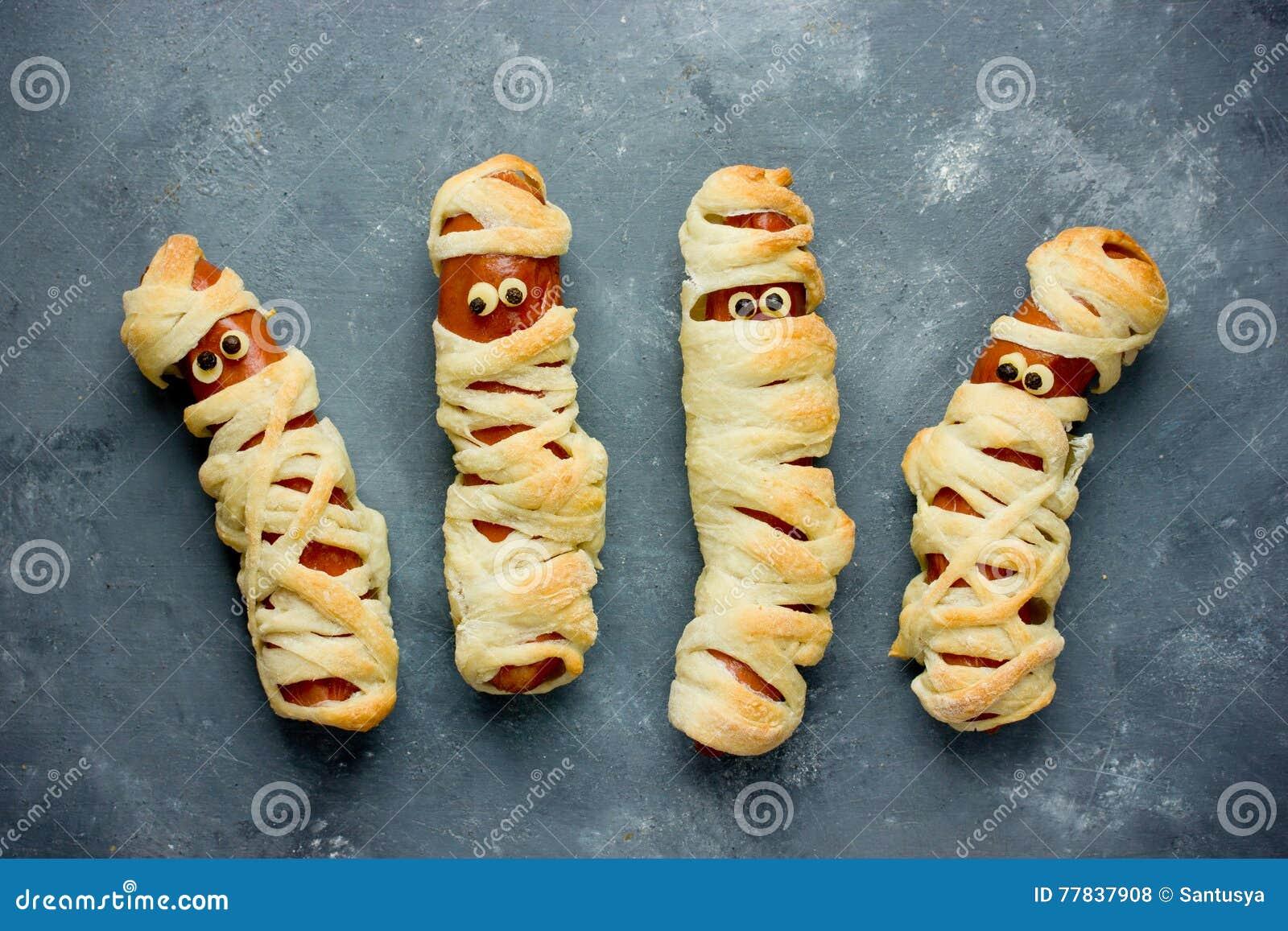 Halloween Idee.Grappig Idee Voor Jonge Geitjes Voor Halloween Voedsel