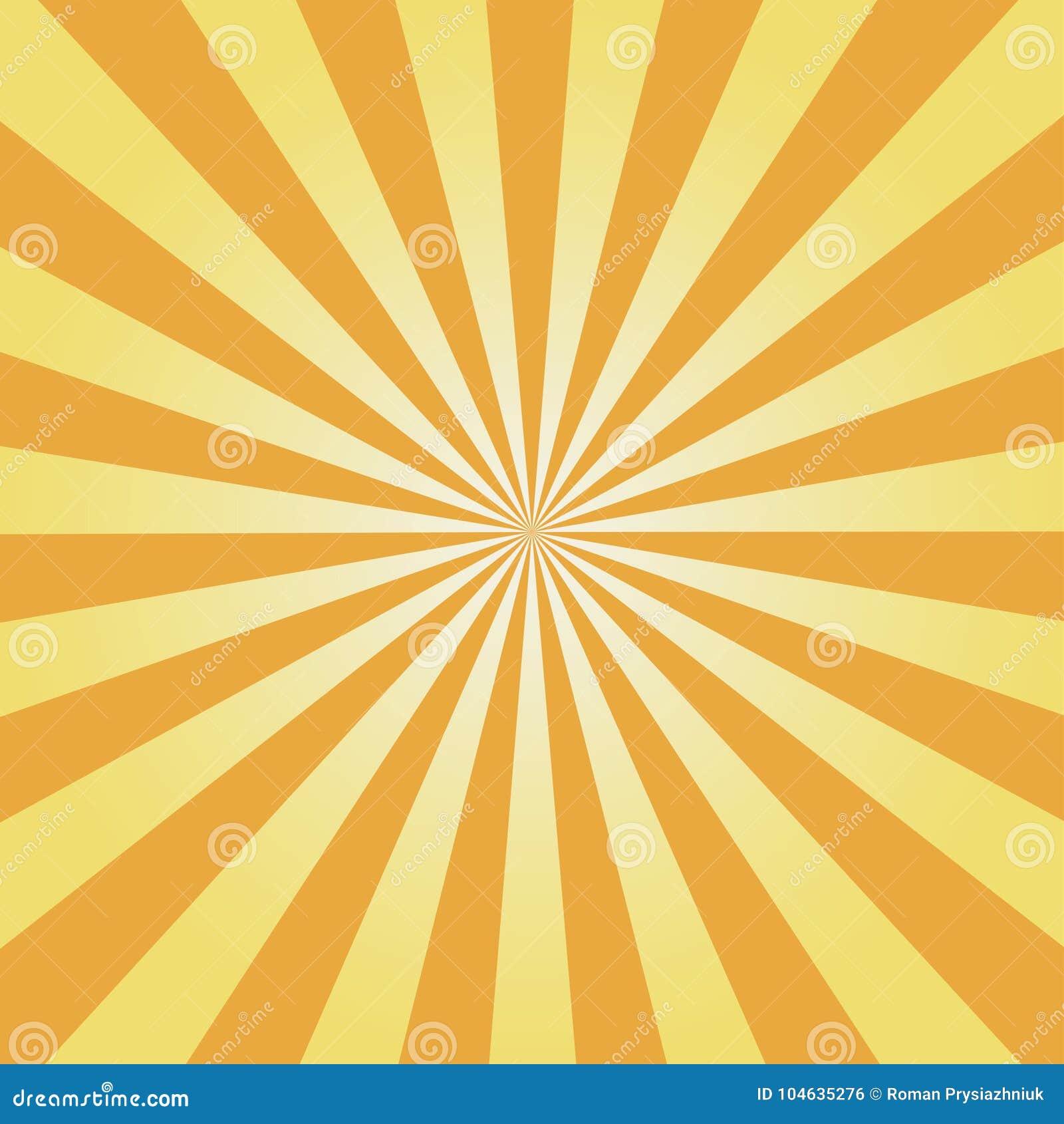 Download Grappige Achtergrond Geel Zonnestraalpatroon De Abstracte Achtergrond Van Zonstralen Vector Vector Illustratie - Illustratie bestaande uit ruimte, helder: 104635276