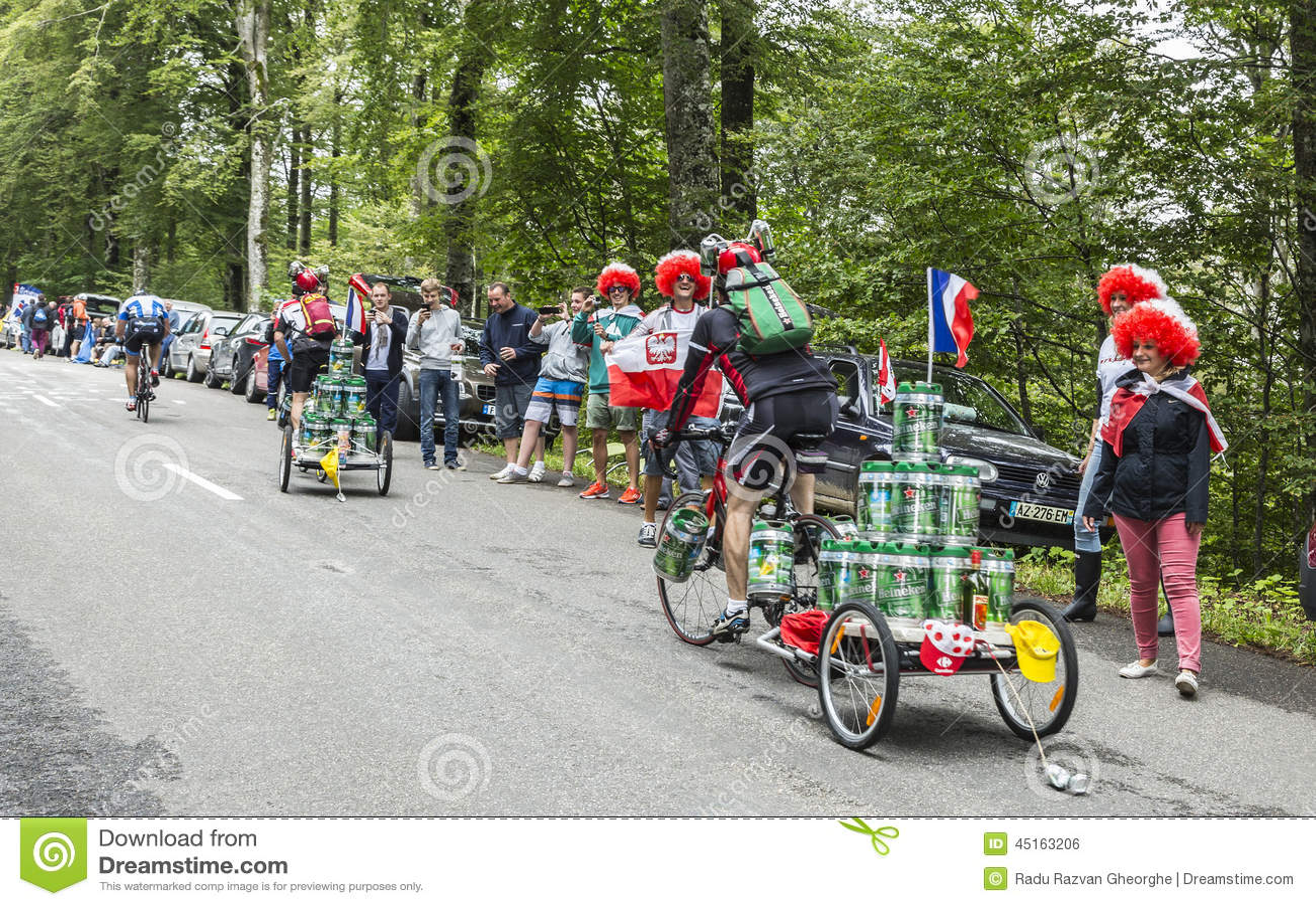 Grappige Amateurfietsers