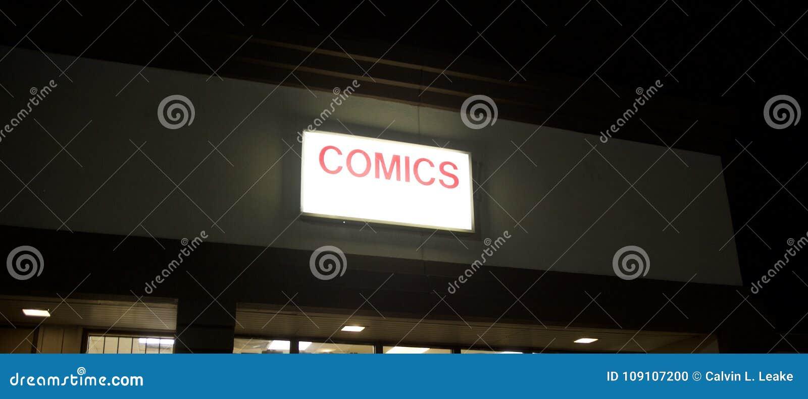 Grappige boekhandel