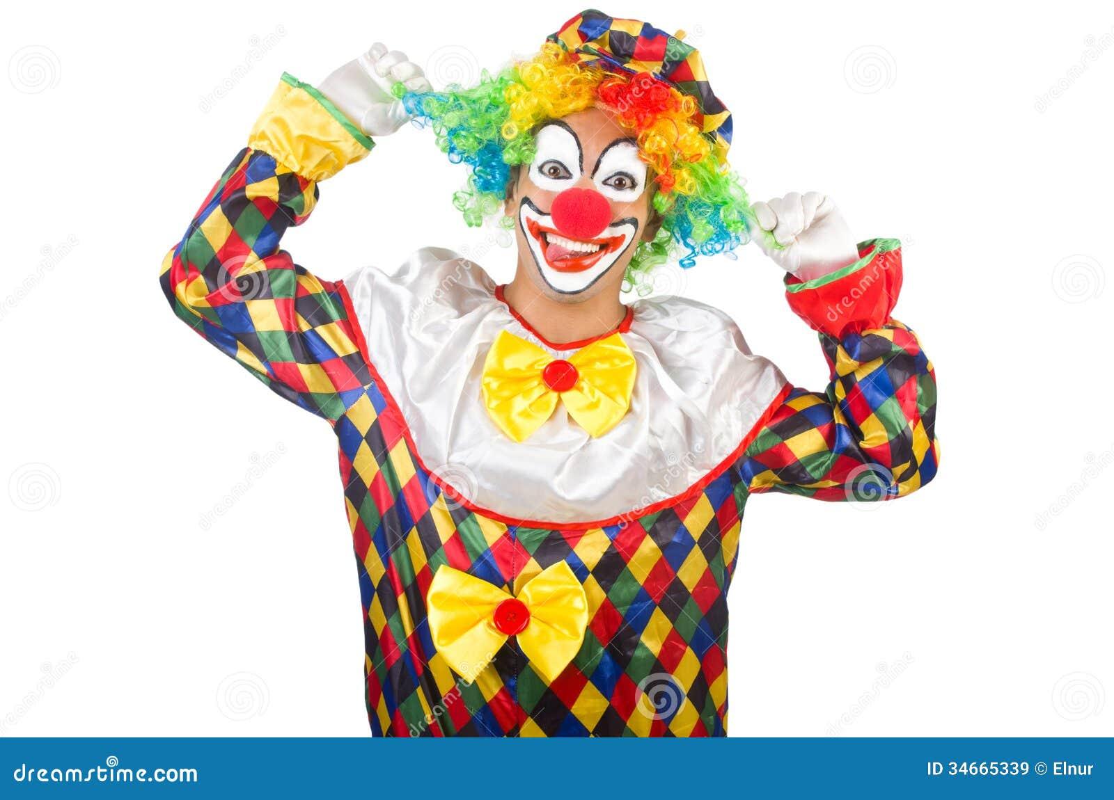 Grappige clown