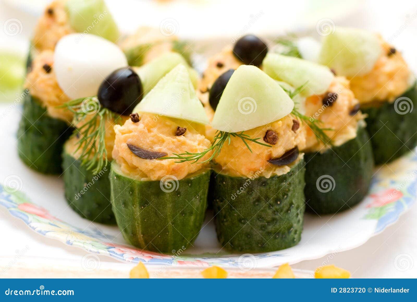 Grappige komkommers stock foto afbeelding 2823720 - De komkommers ...