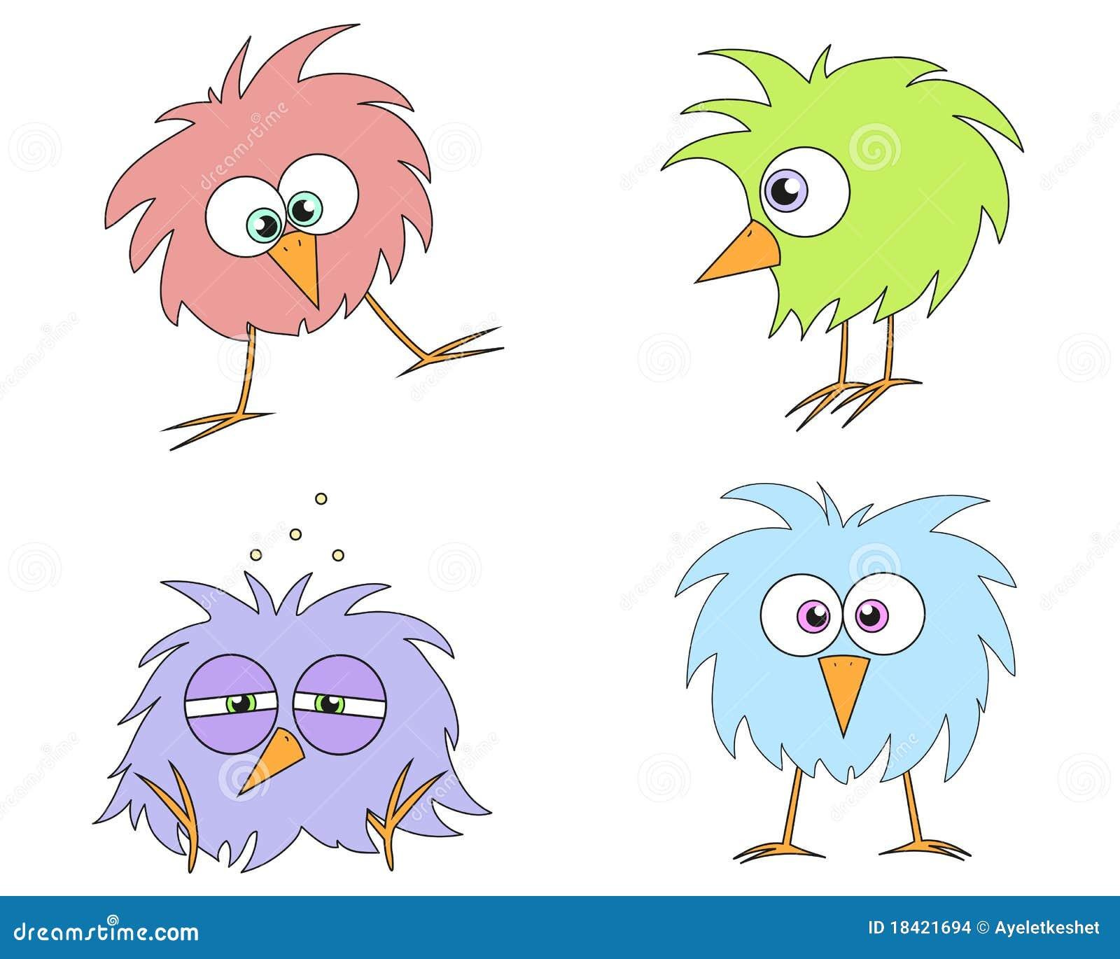 Grappige vogels