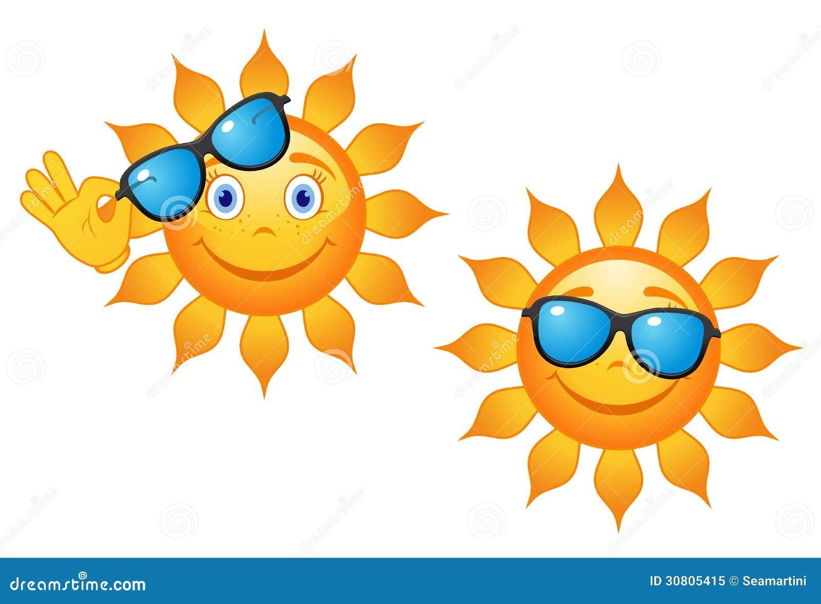 grappige zon in zonnebril vector illustratie illustratie bestaande uit vreugde 30805415. Black Bedroom Furniture Sets. Home Design Ideas