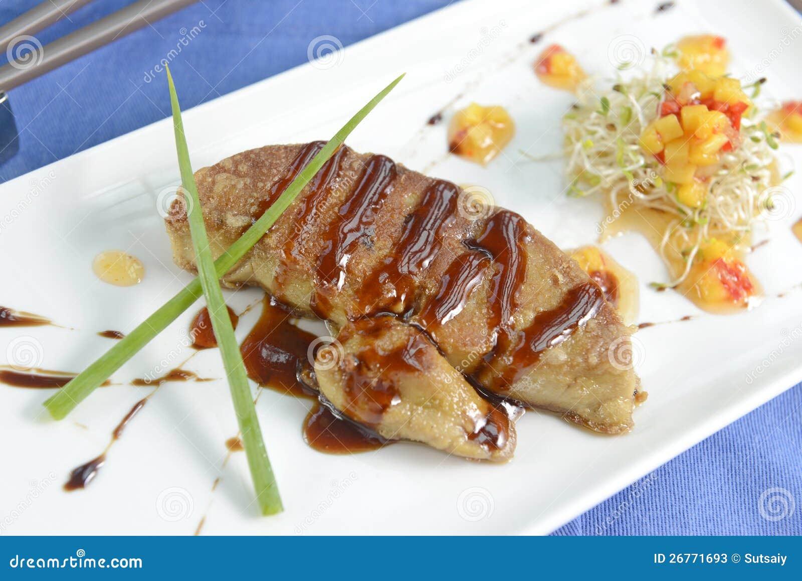 Gras de Foie, um prato delicioso